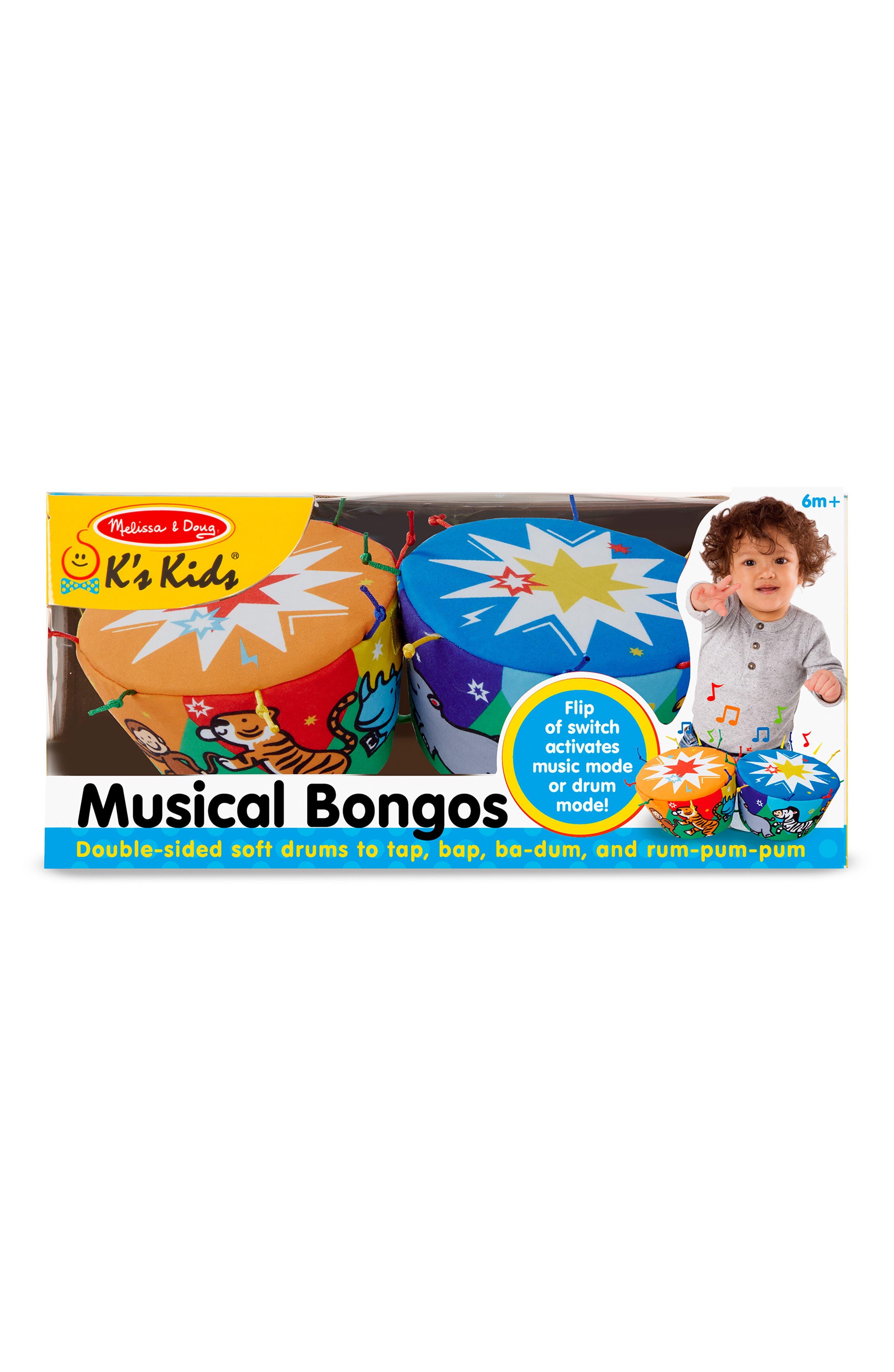 Melissa  Doug Musical Bongos