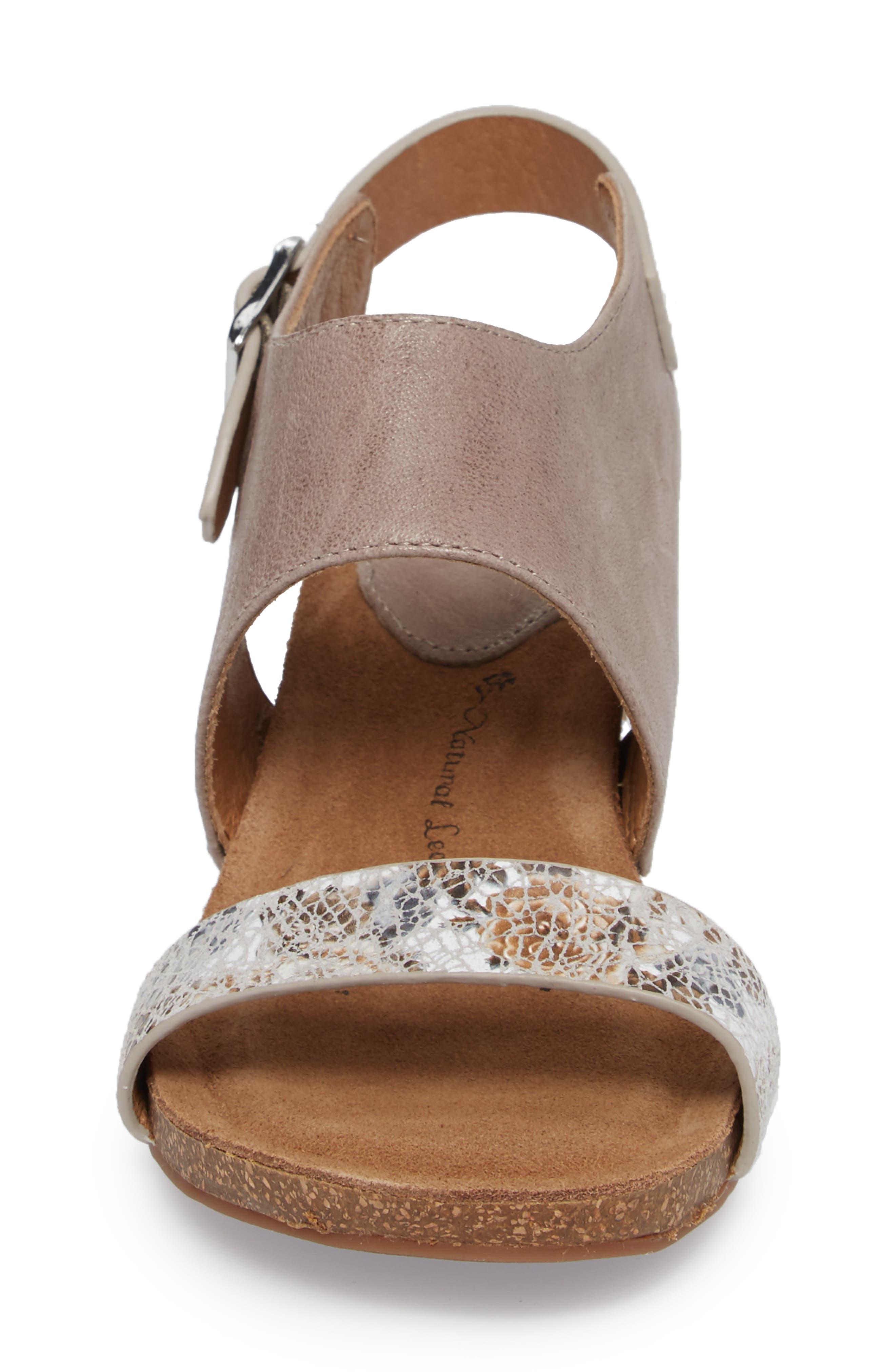 'Vanita' Leather Sandal,                             Alternate thumbnail 4, color,                             031