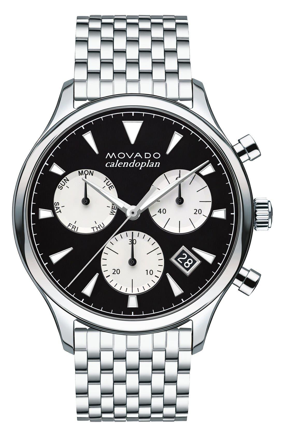 Heritage Chronograph Bracelet Watch, 43mm,                         Main,                         color, 041