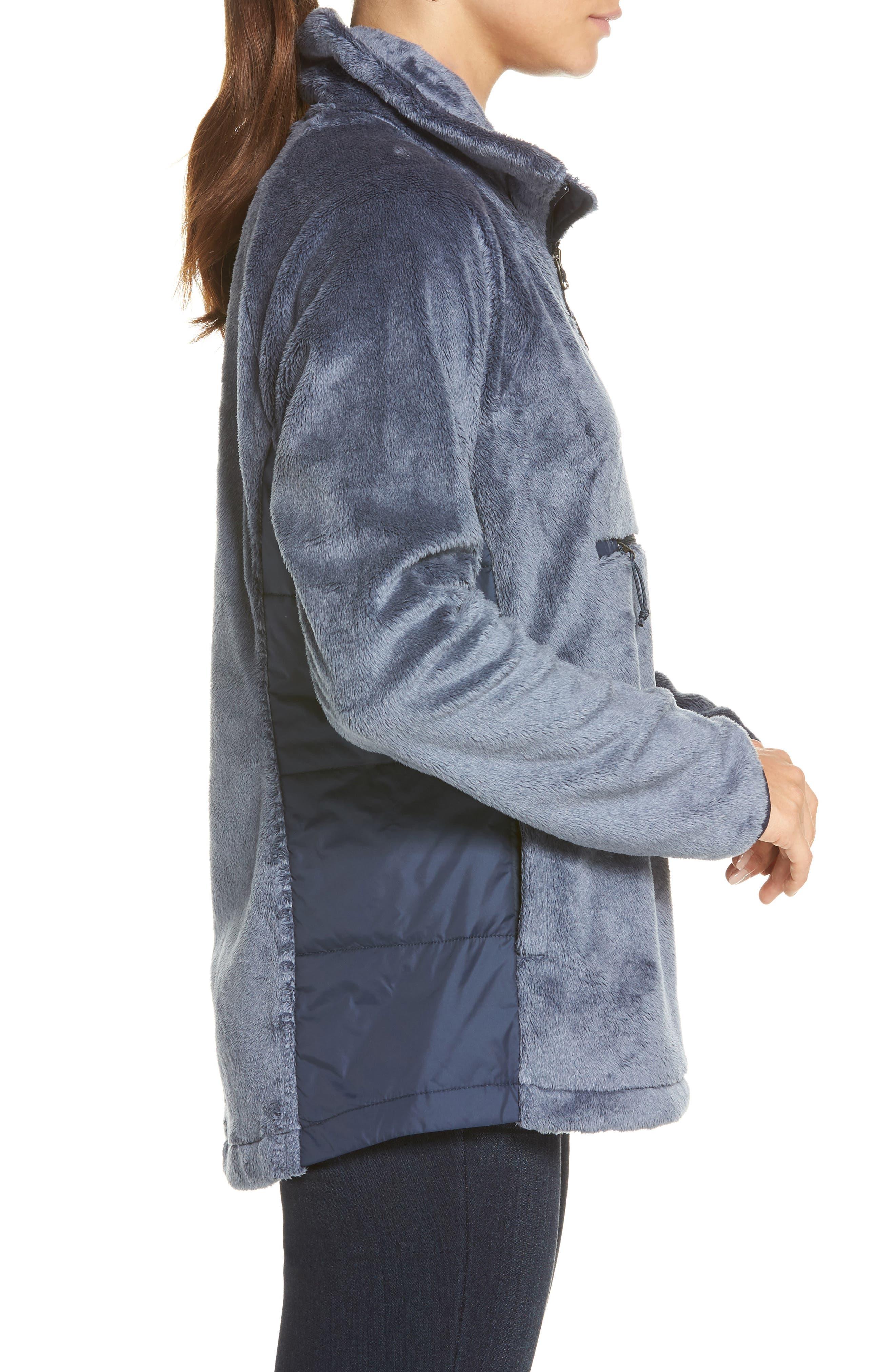 Osito Sport Hybrid Pullover Jacket,                             Alternate thumbnail 3, color,                             401