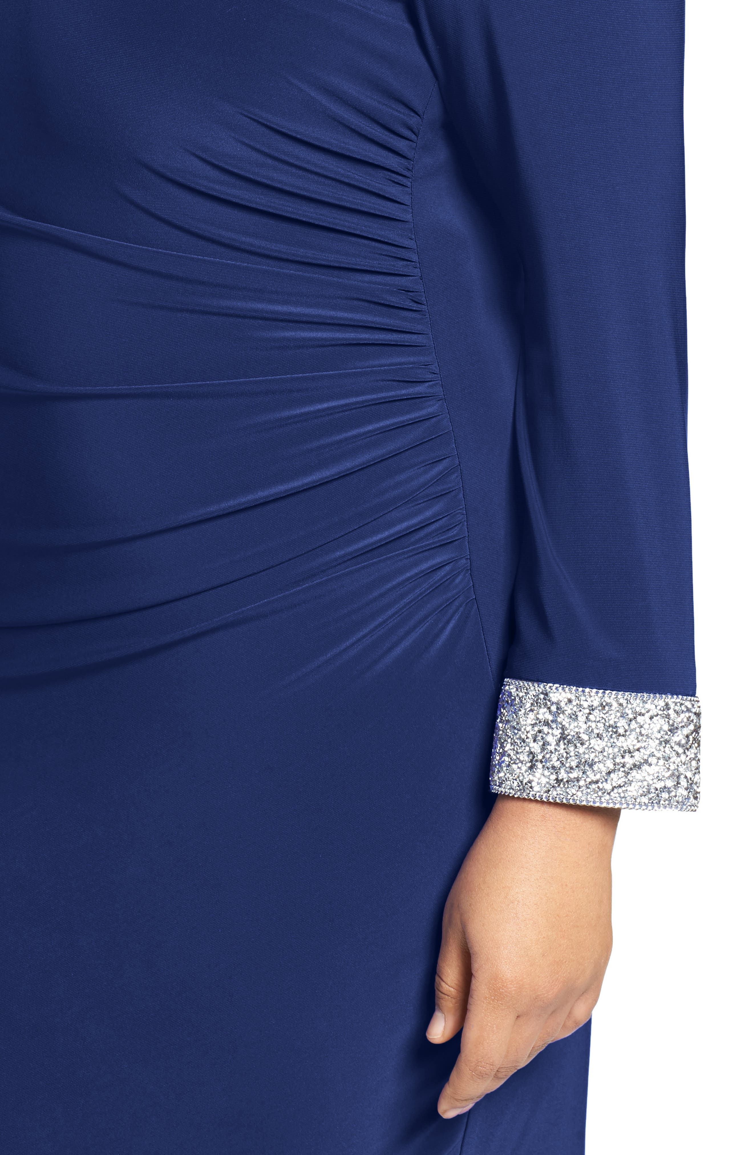 Open Back Sheath Dress,                             Alternate thumbnail 8, color,