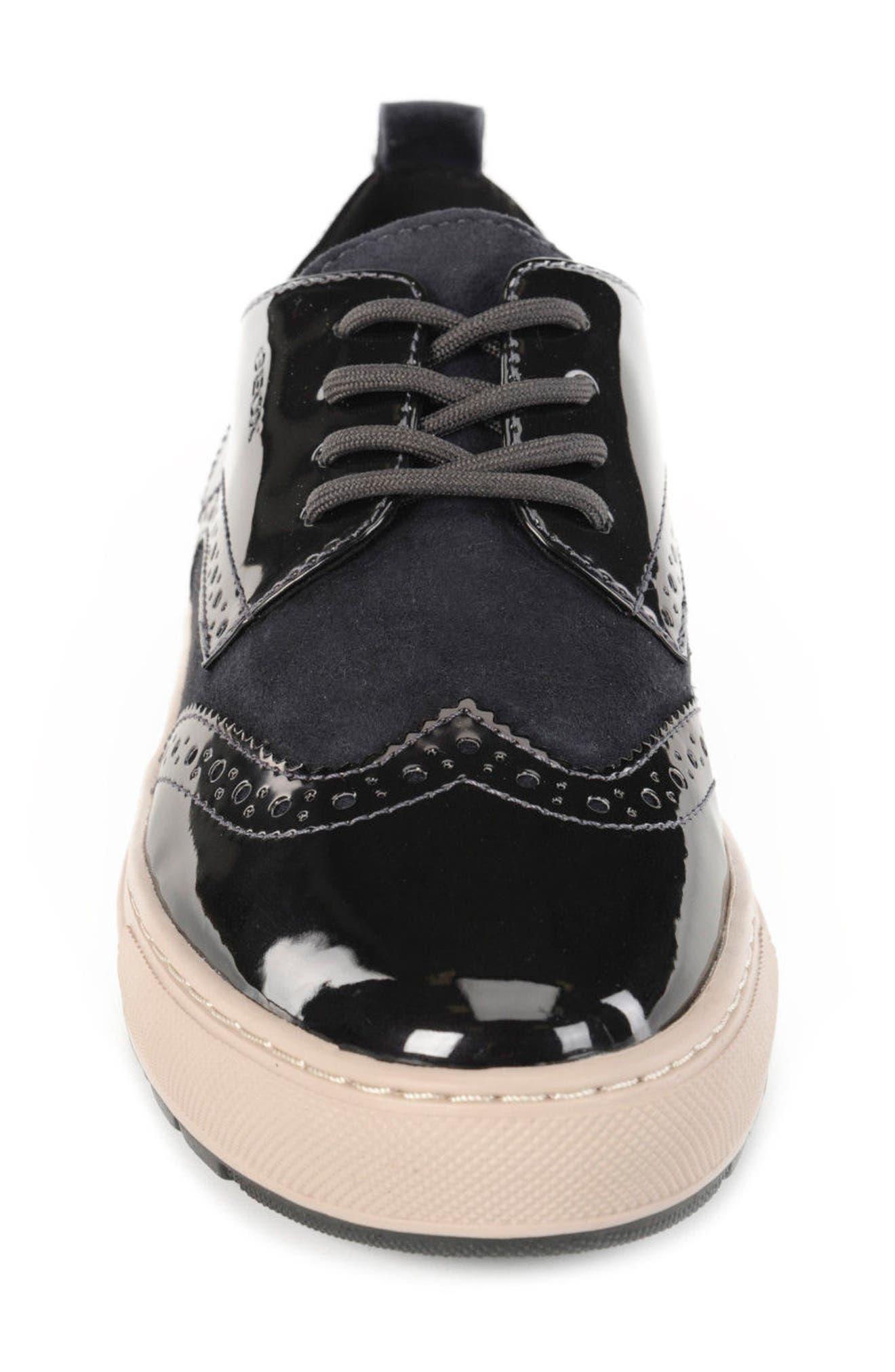 Breeda Oxford Sneaker,                             Alternate thumbnail 4, color,                             400