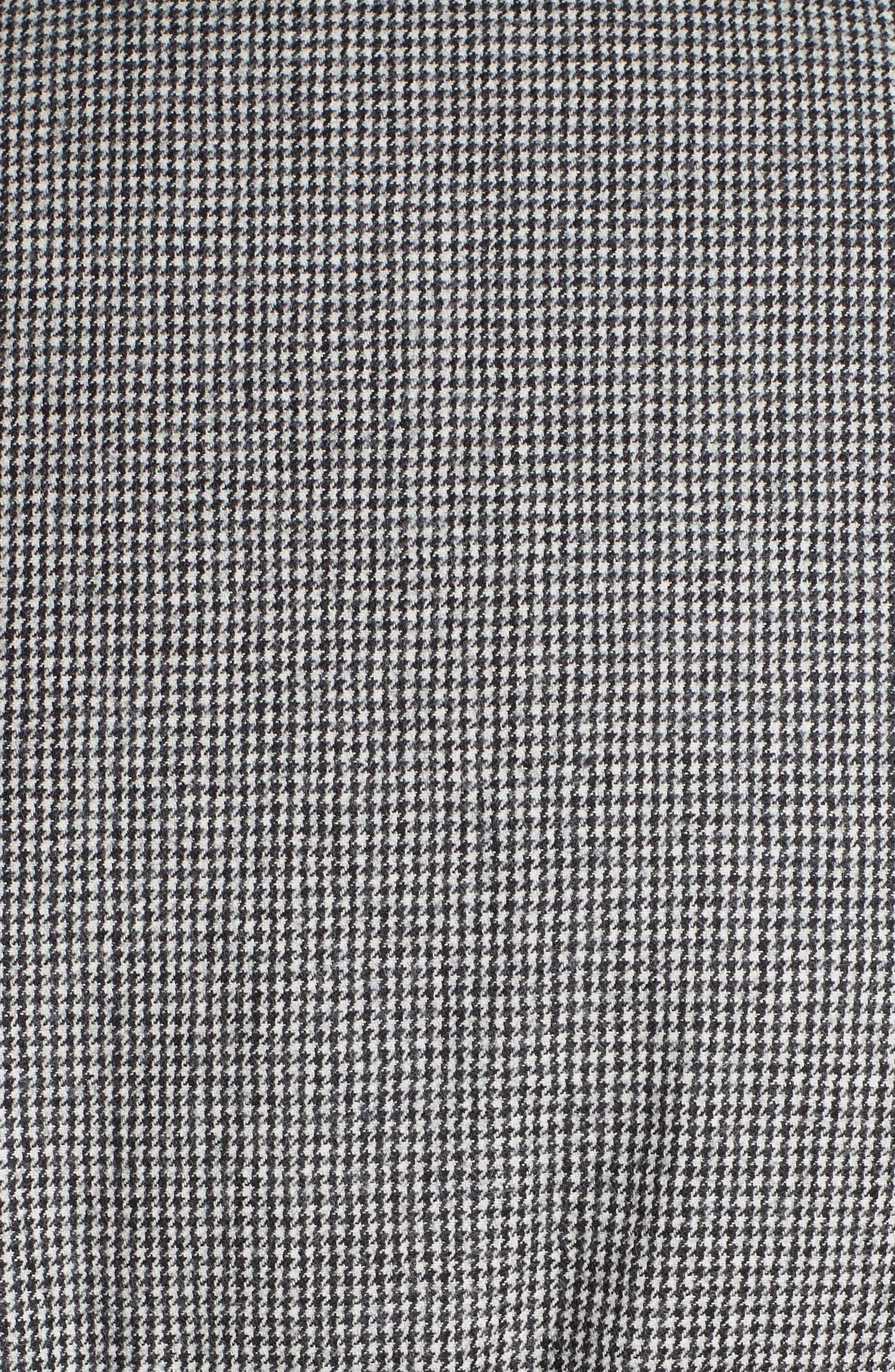 MONCLER,                             Cer Wool Down Puffer Jacket,                             Alternate thumbnail 6, color,                             BLACK