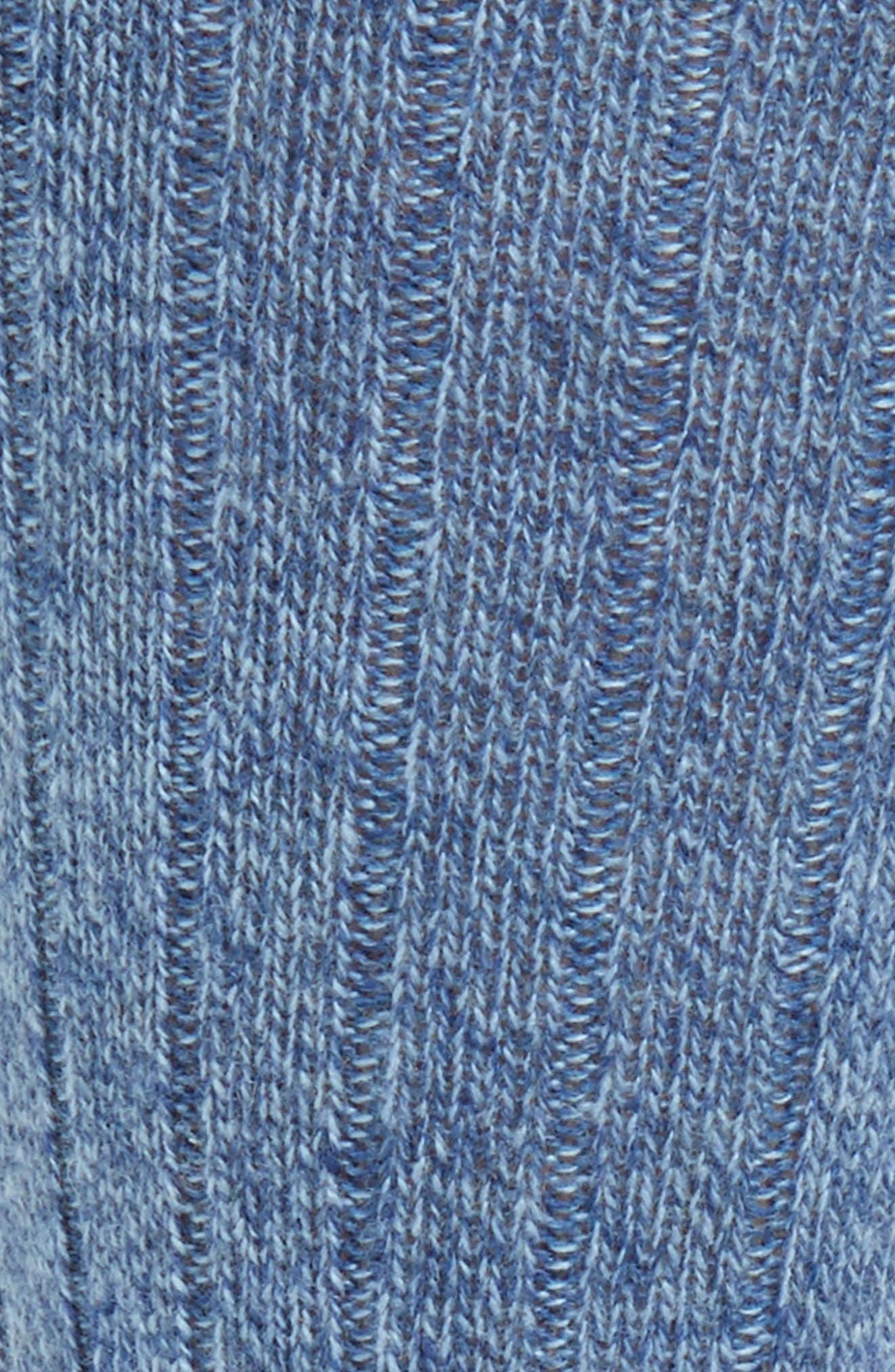 'Waddington' Cashmere Blend Mid Calf Socks,                             Alternate thumbnail 23, color,
