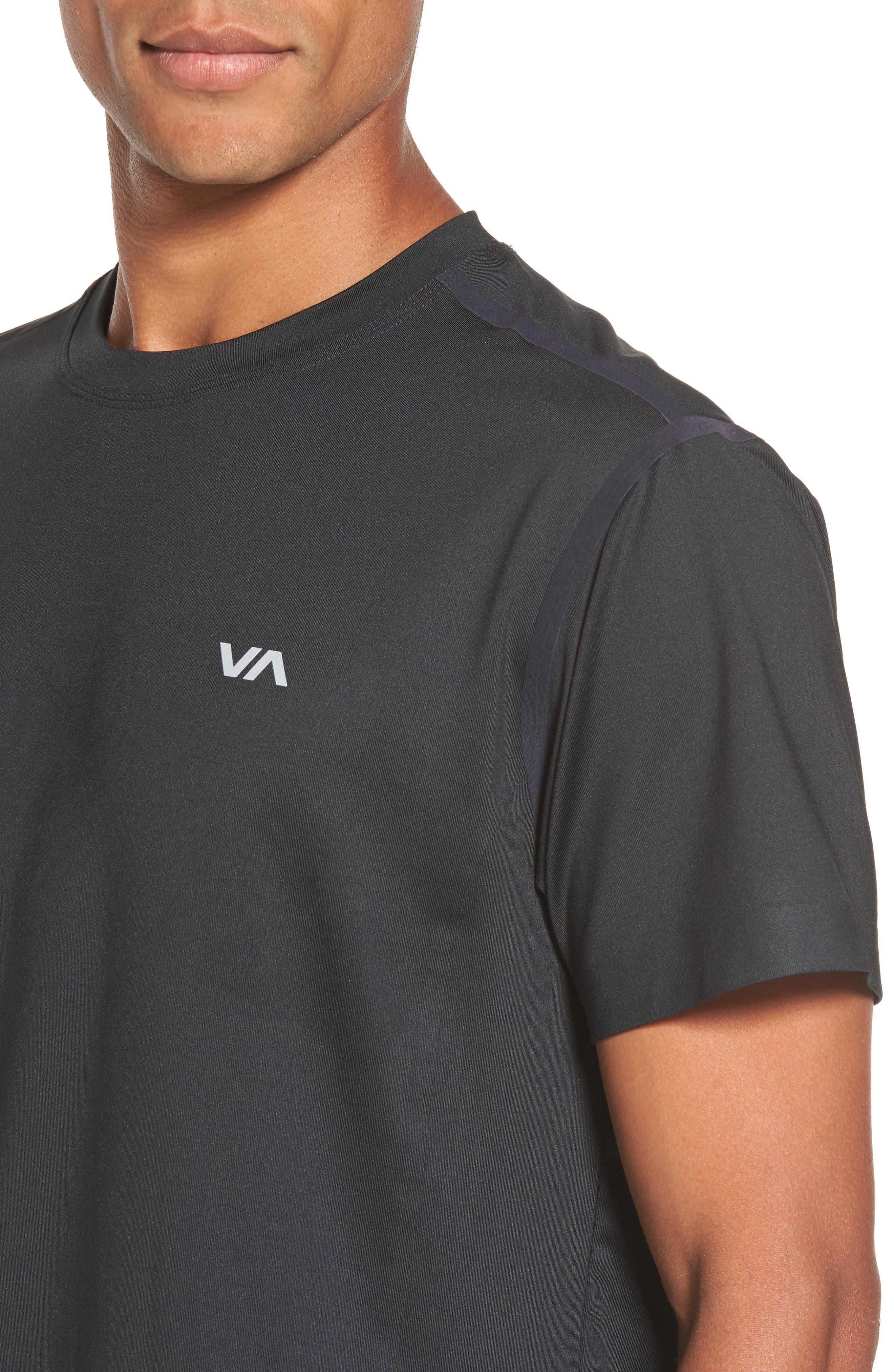 VA Compression T-Shirt,                             Alternate thumbnail 4, color,                             001