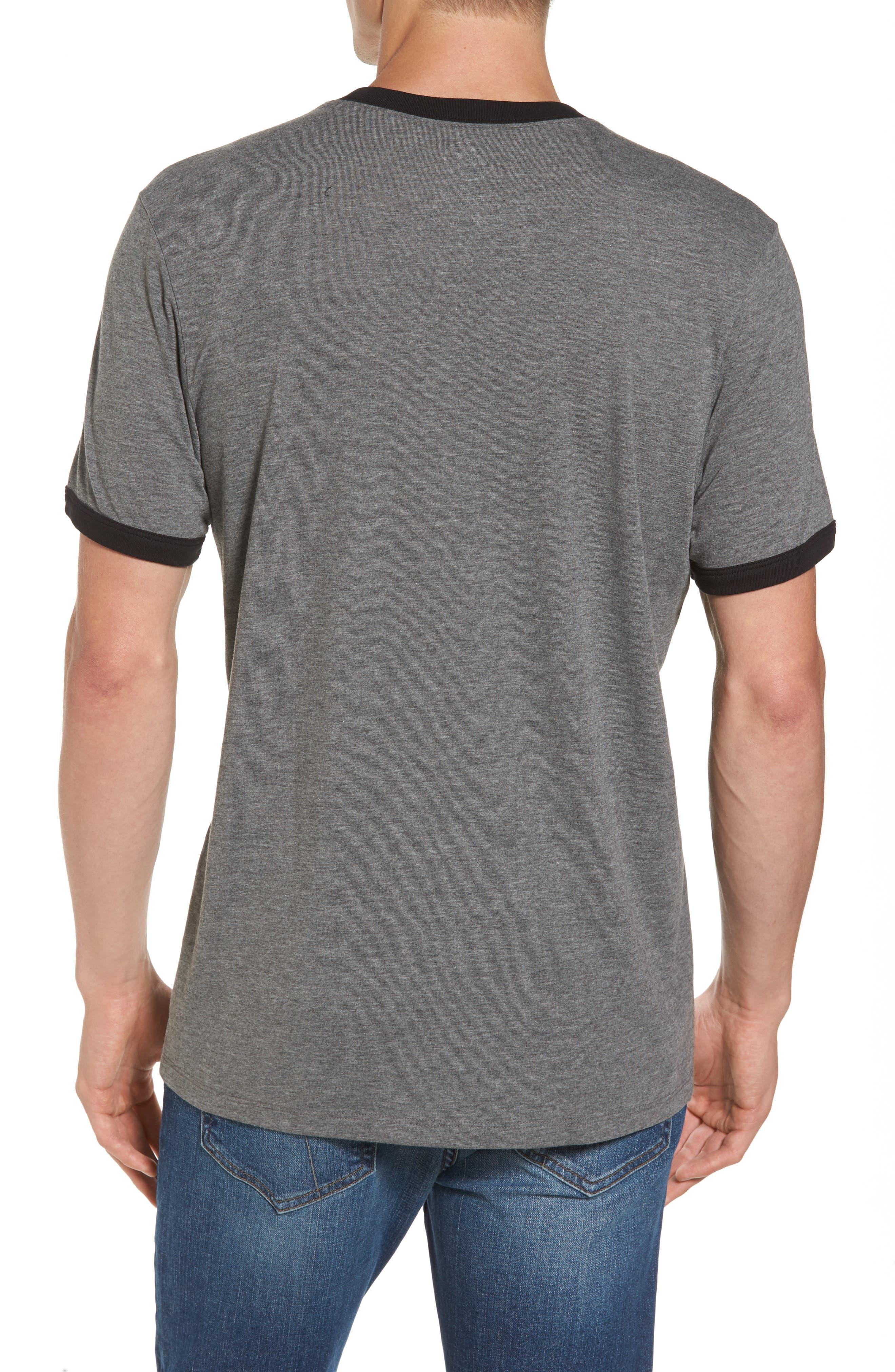 Carolina Panthers Ringer T-Shirt,                             Alternate thumbnail 2, color,                             021