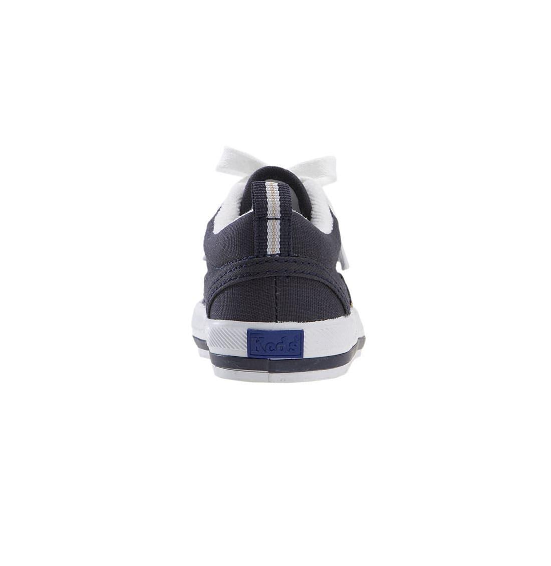 'Graham' Lace-Up Sneaker,                             Alternate thumbnail 2, color,                             NAVY CANVAS