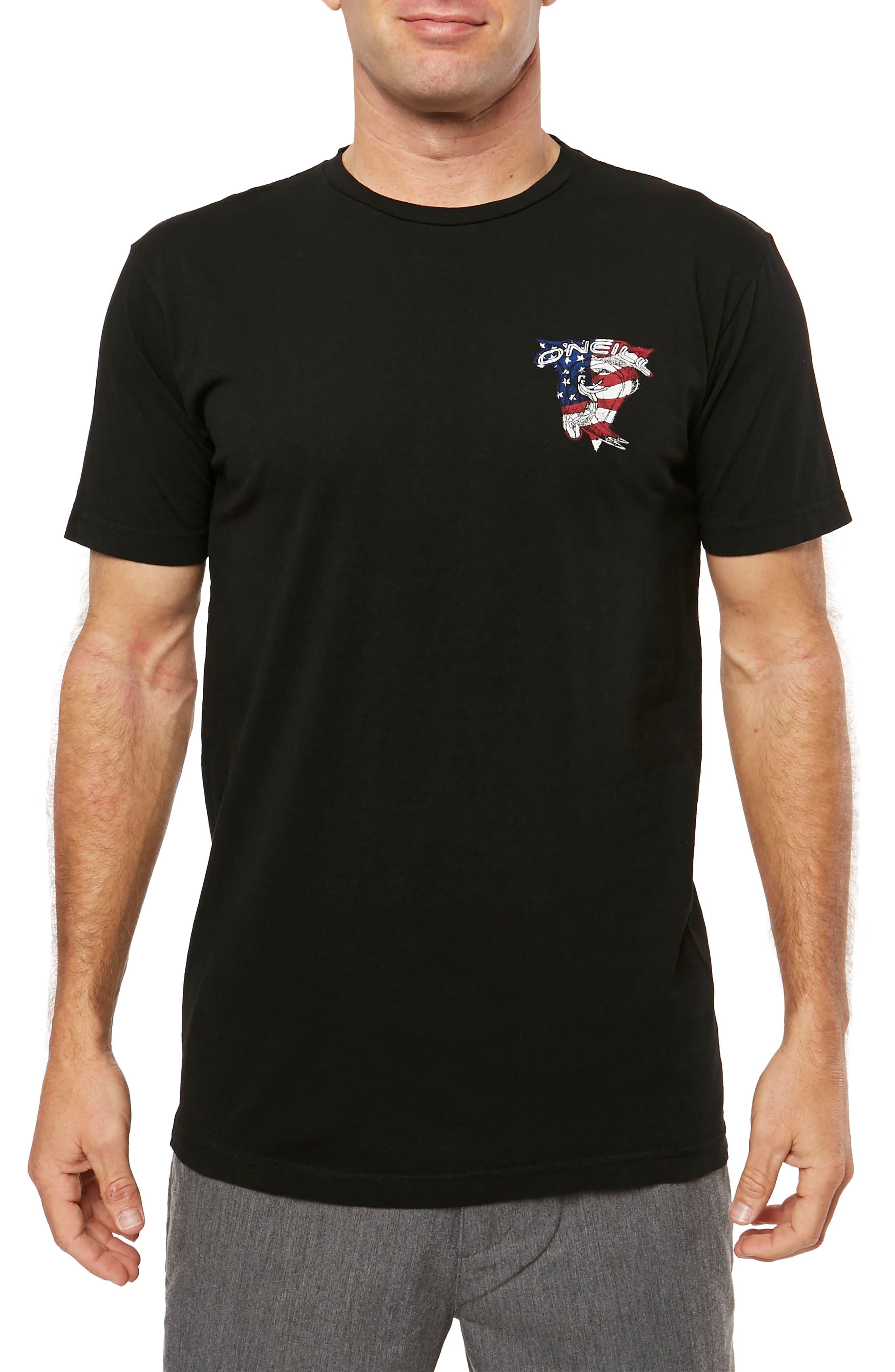 Flagship Graphic T-Shirt,                             Main thumbnail 1, color,                             001