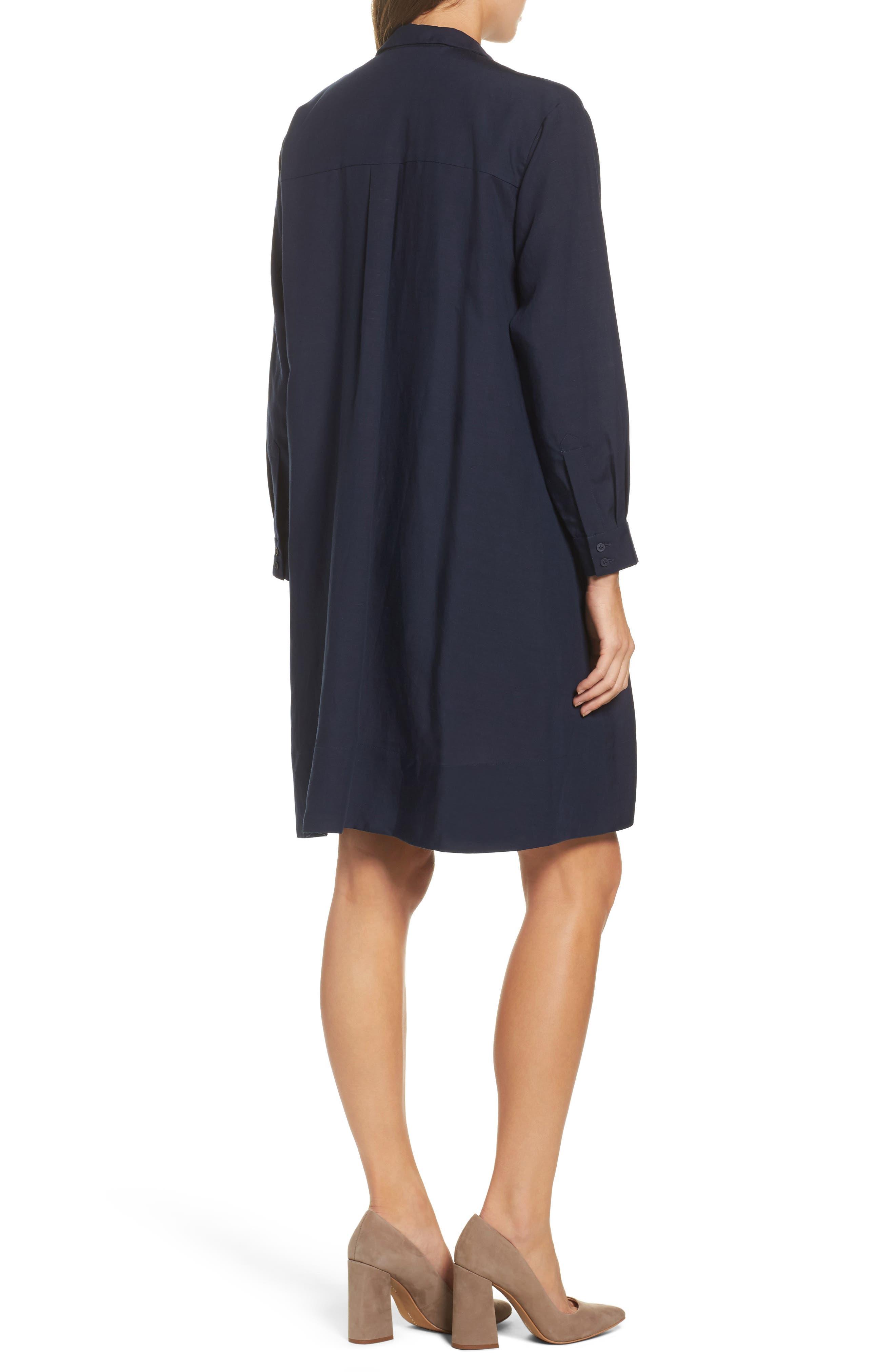 Ellesmere Drape Shirtdress,                             Alternate thumbnail 2, color,