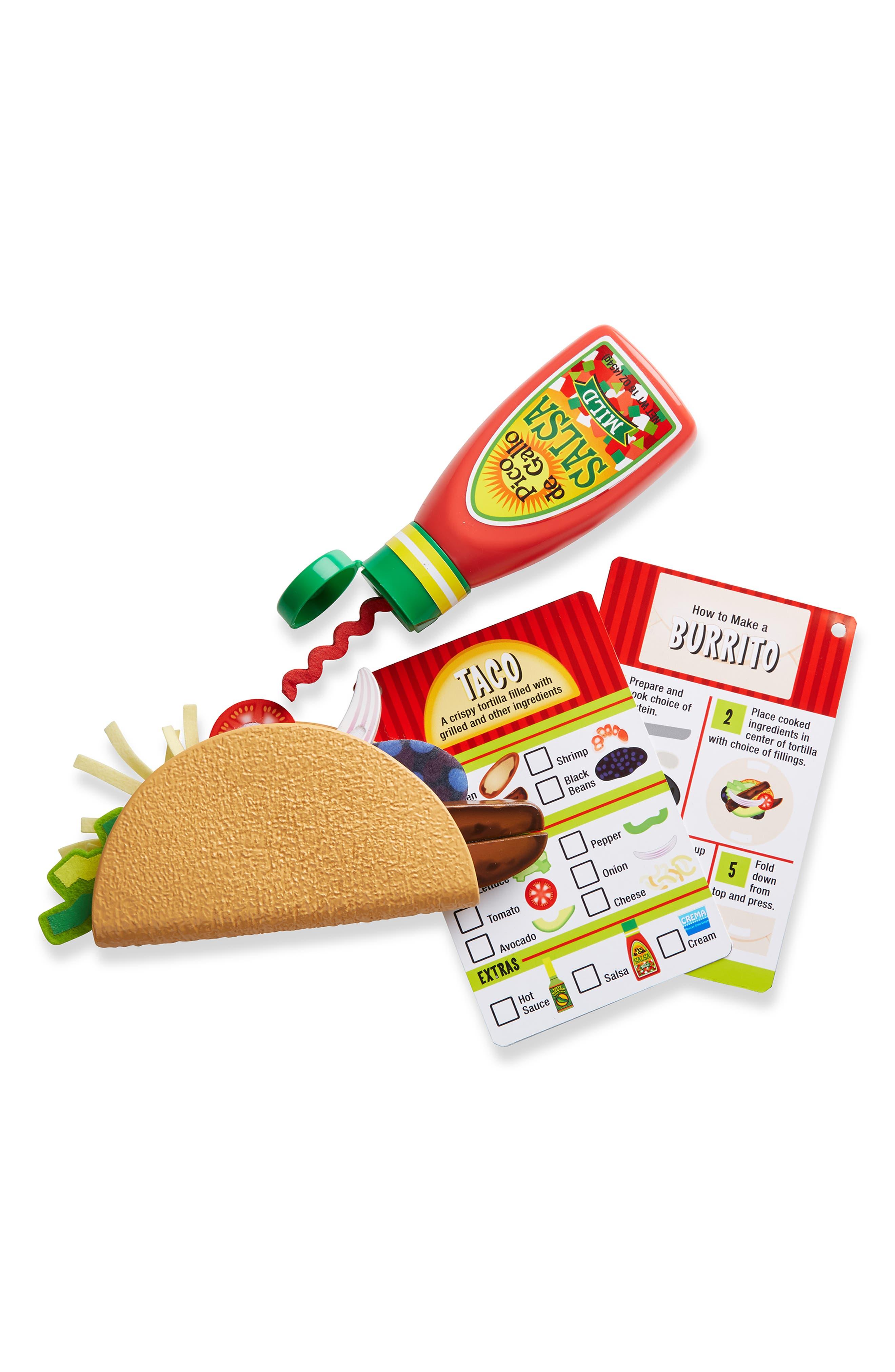 MELISSA & DOUG,                             Fill & Fold Taco & Tortilla Set,                             Alternate thumbnail 4, color,                             960