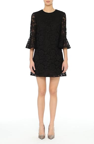 Lace Bell Sleeve Dress, video thumbnail