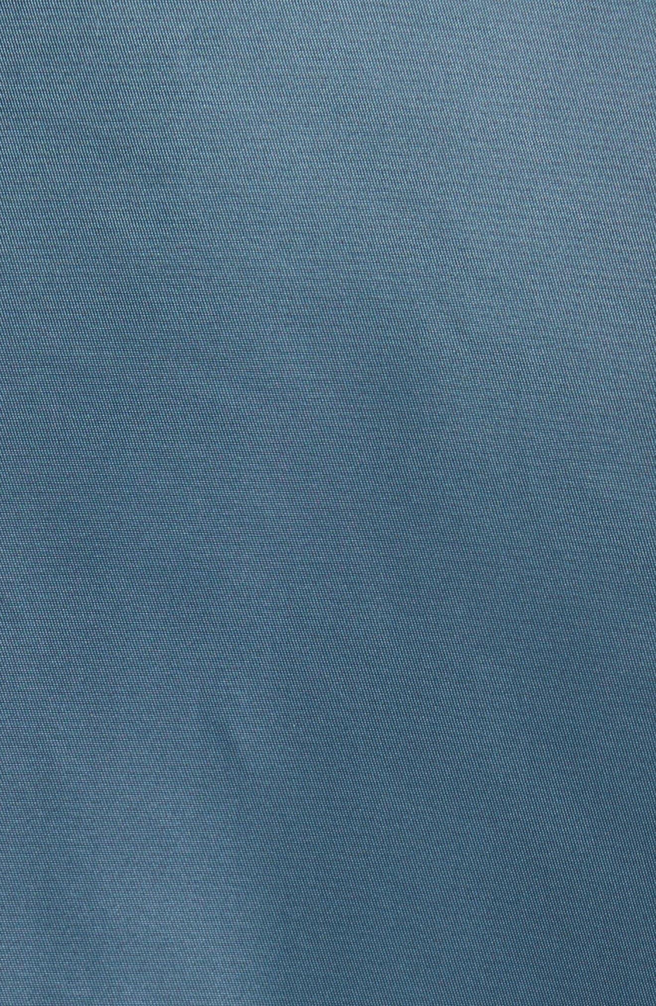 Peter Genuine Shearling Sleeve Jacket,                             Alternate thumbnail 6, color,                             410