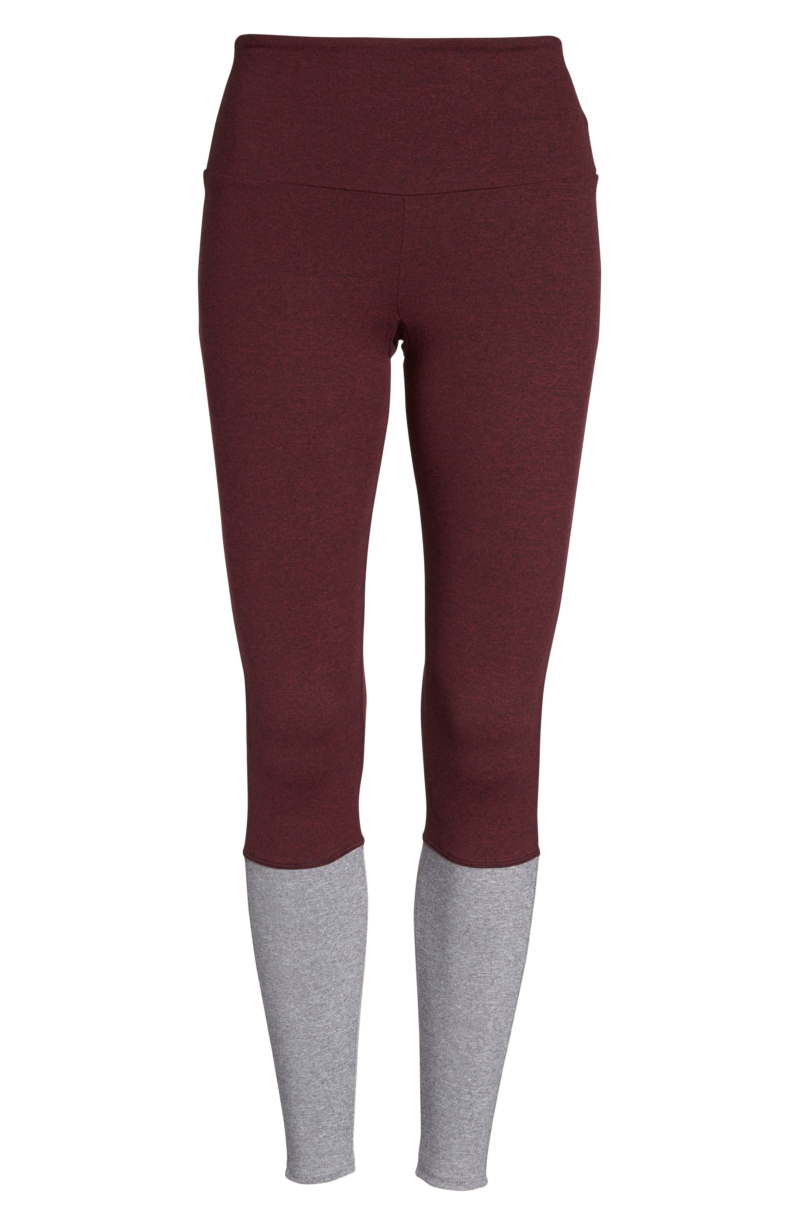Street High Waist Leggings,                             Alternate thumbnail 19, color,