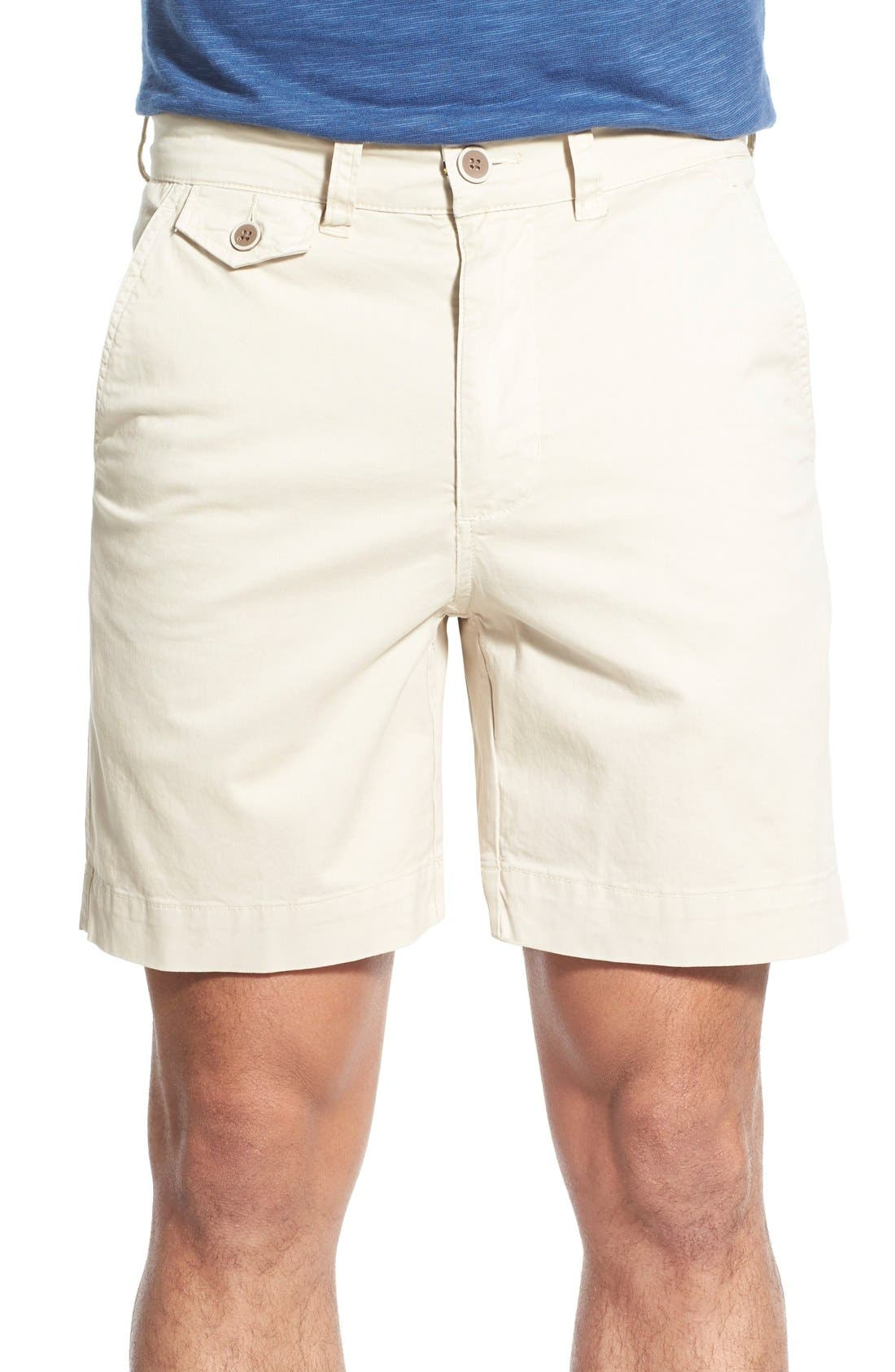 'Sunny' Stretch Twill Chino Shorts,                             Main thumbnail 1, color,