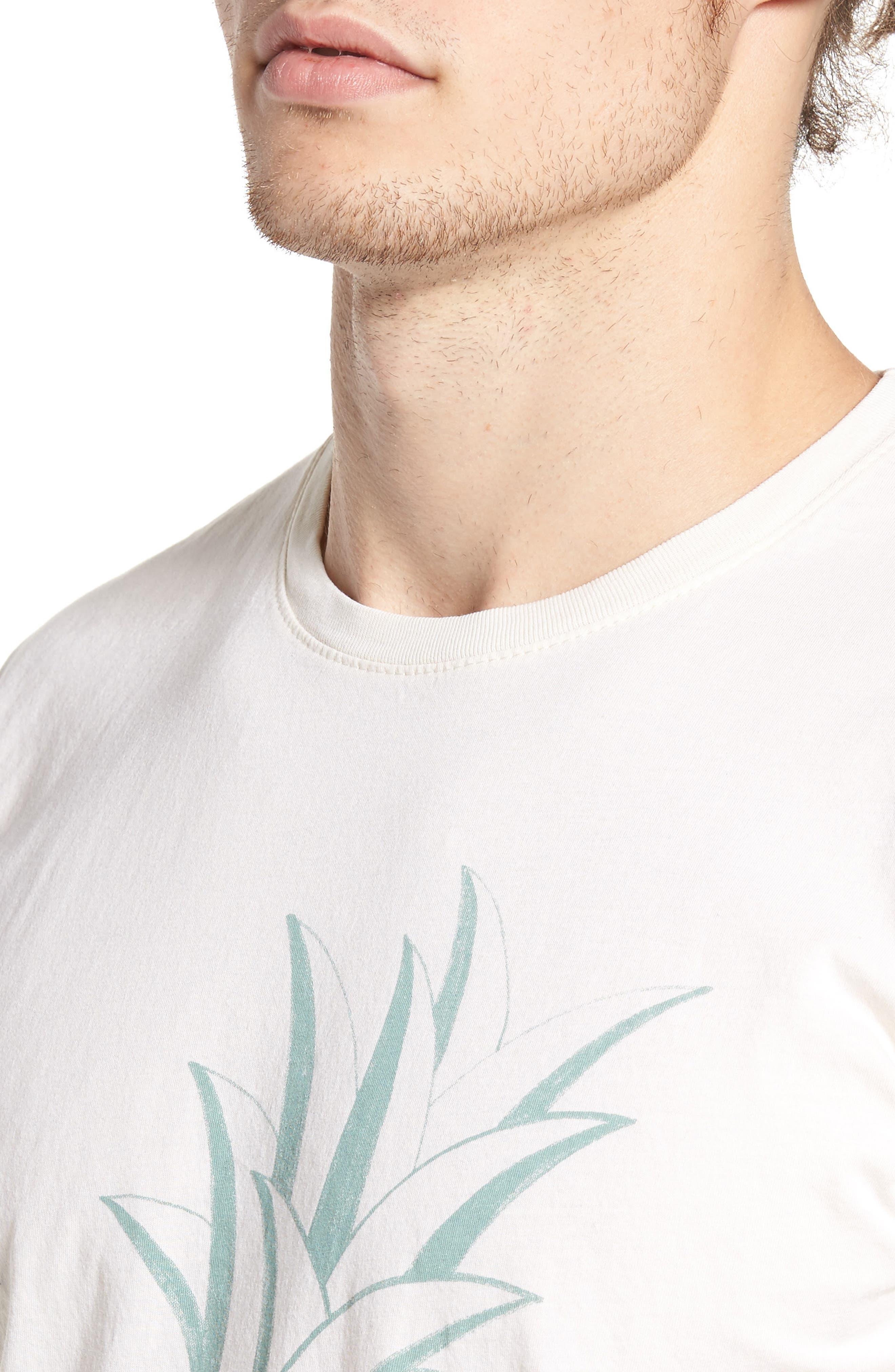 Pineapple Graphic T-Shirt,                             Alternate thumbnail 4, color,                             250