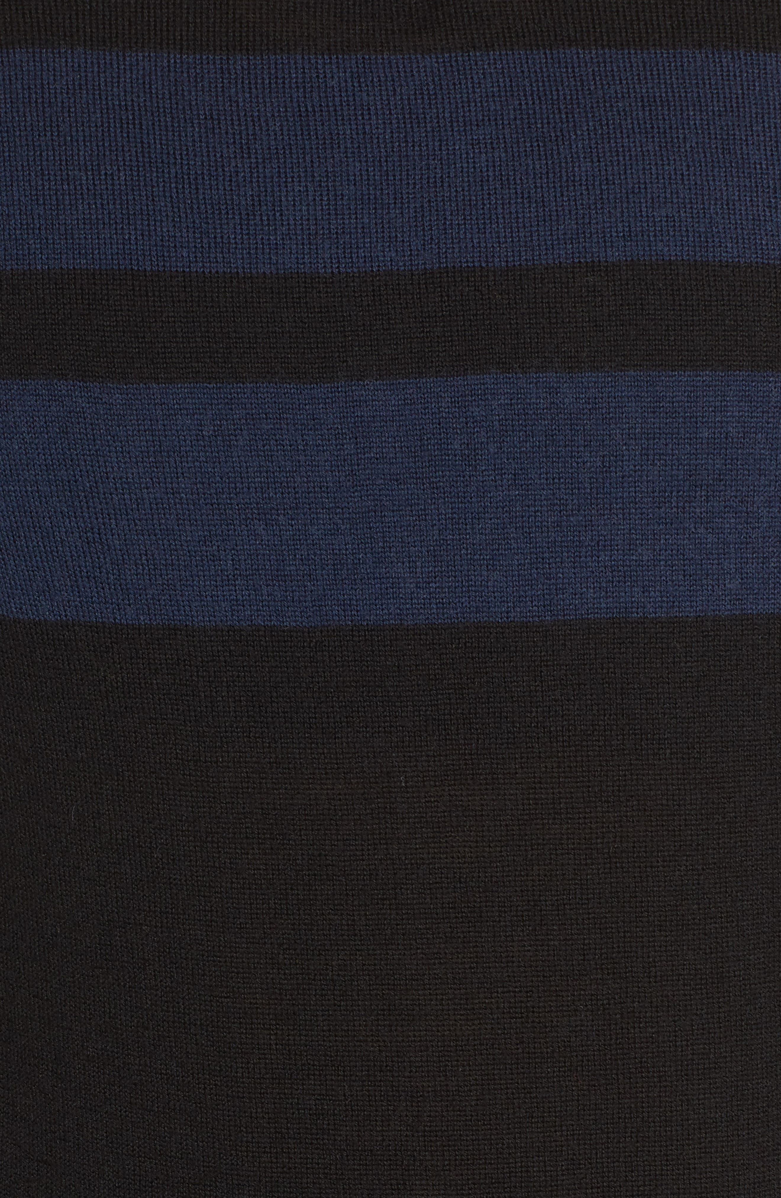 Merino Quarter-Zip Top,                             Alternate thumbnail 6, color,                             001