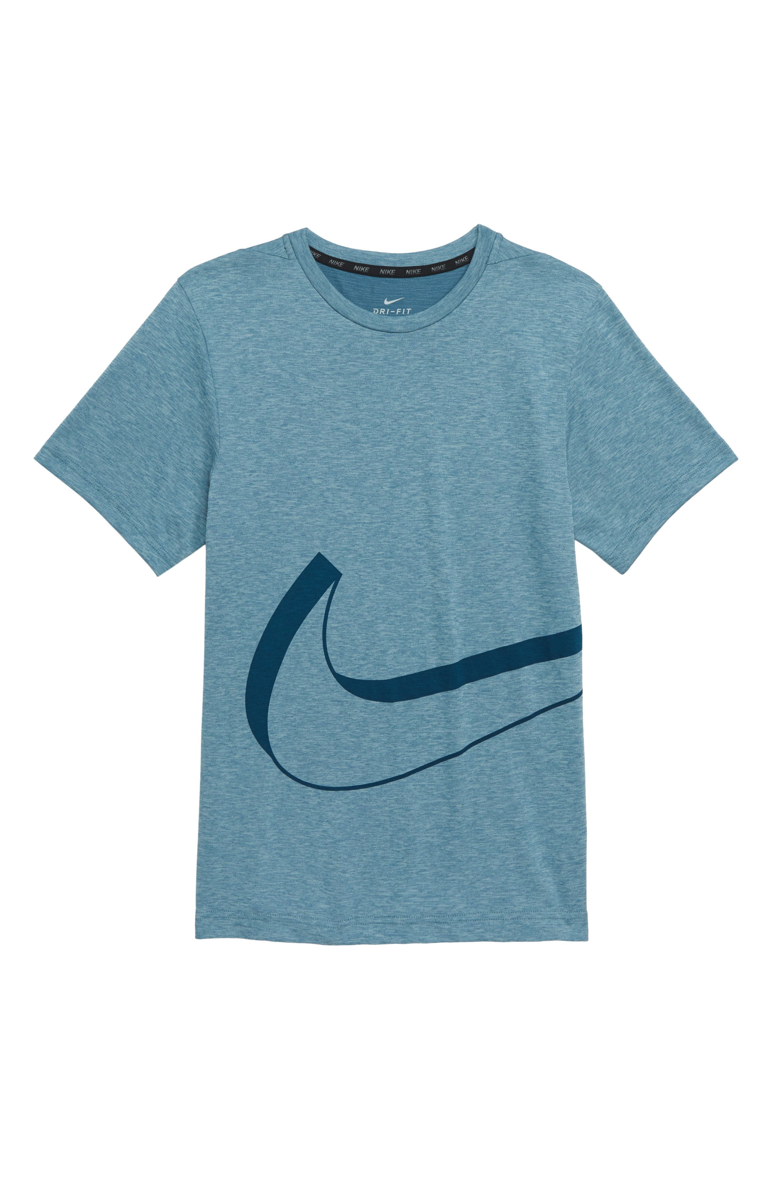 Dry Graphic T-Shirt,                         Main,                         color, CELESTIAL TEAL/ OCEAN BLISS