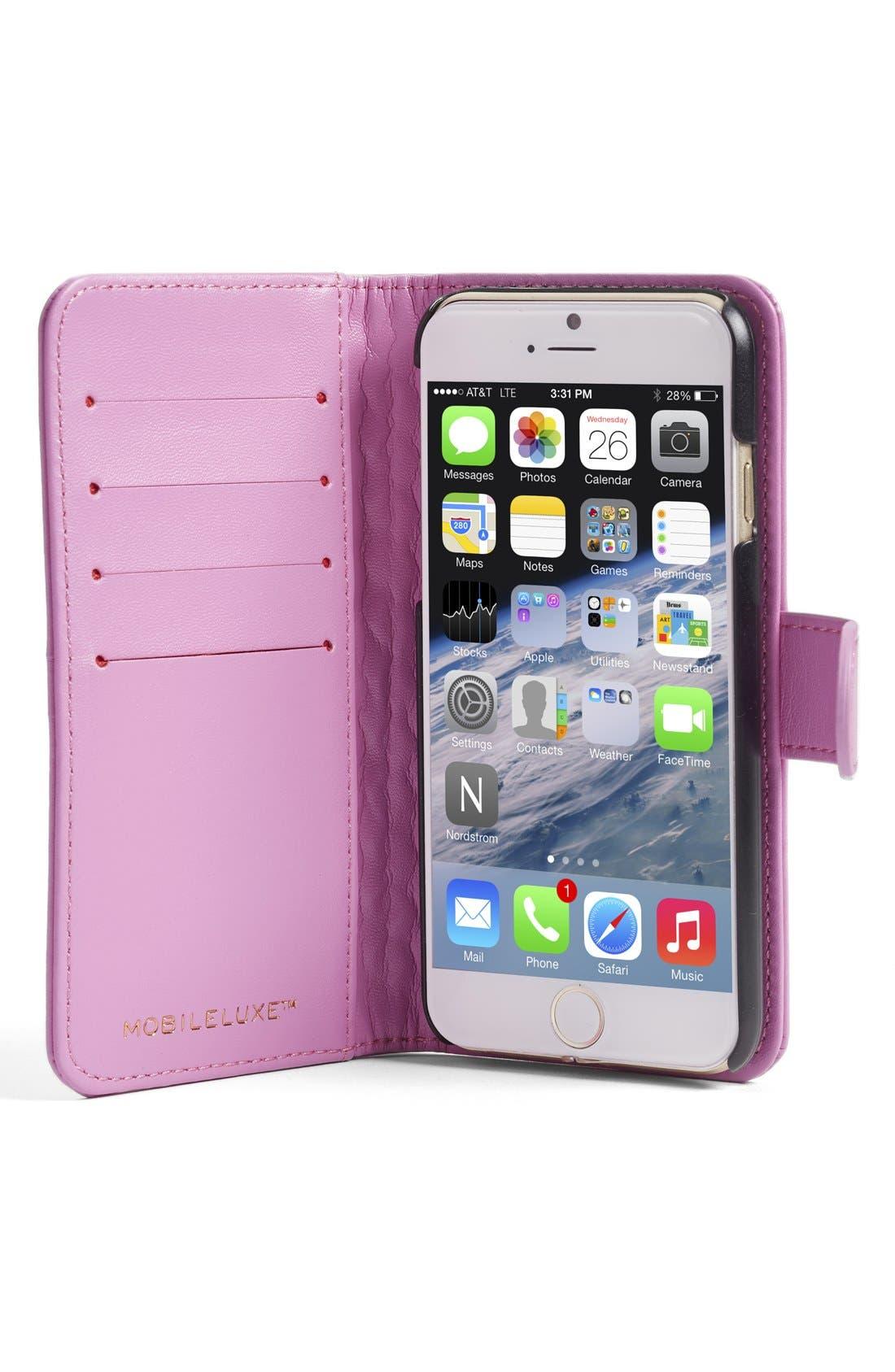 iPhone 6/6s Wallet Case,                             Alternate thumbnail 4, color,                             650
