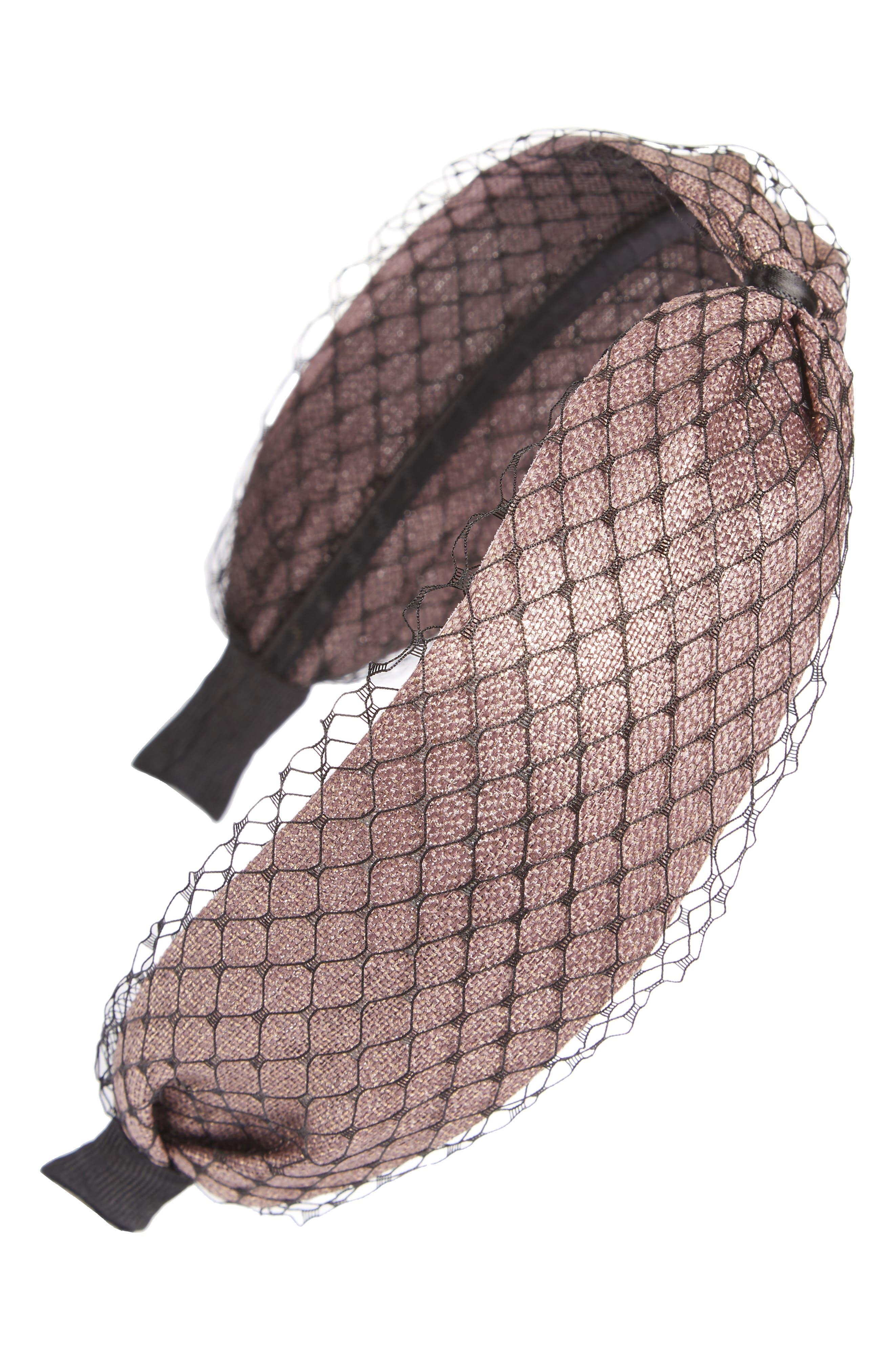 Mesh Headband,                             Main thumbnail 2, color,