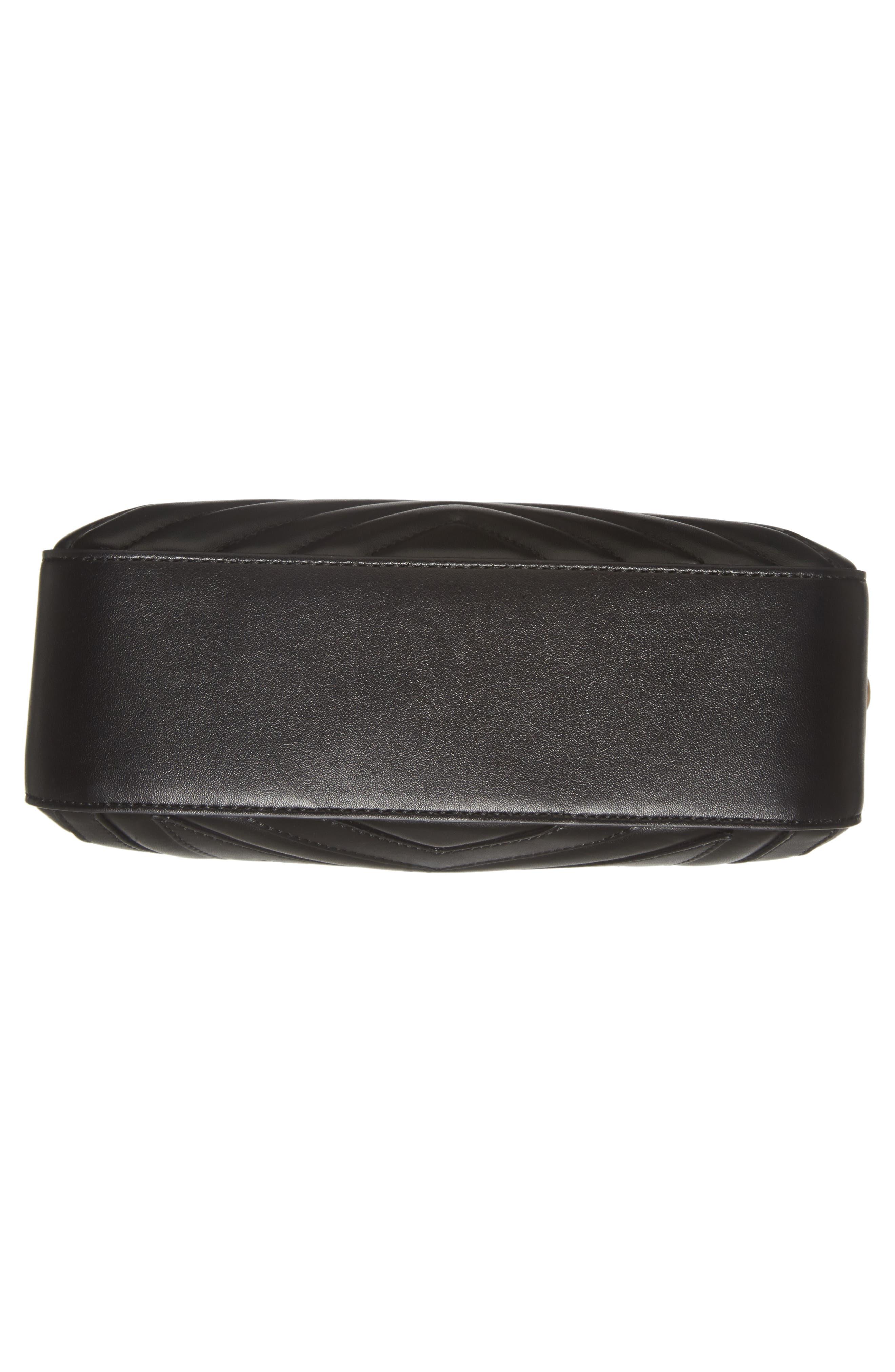Alter Nappa Faux Leather Shoulder Bag,                             Alternate thumbnail 6, color,                             BLACK