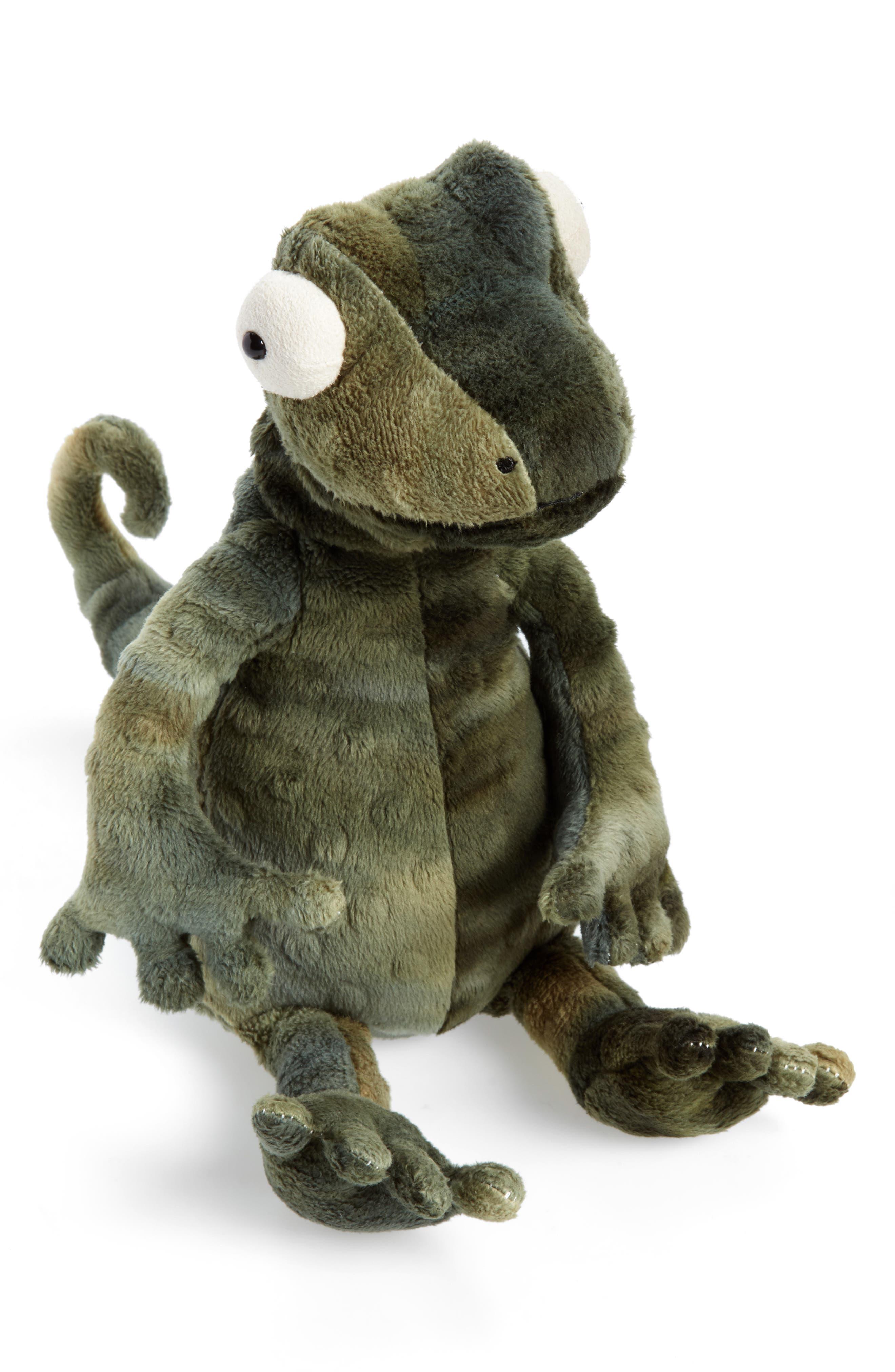 Gary Gecko Stuffed Animal,                             Main thumbnail 1, color,                             GREEN