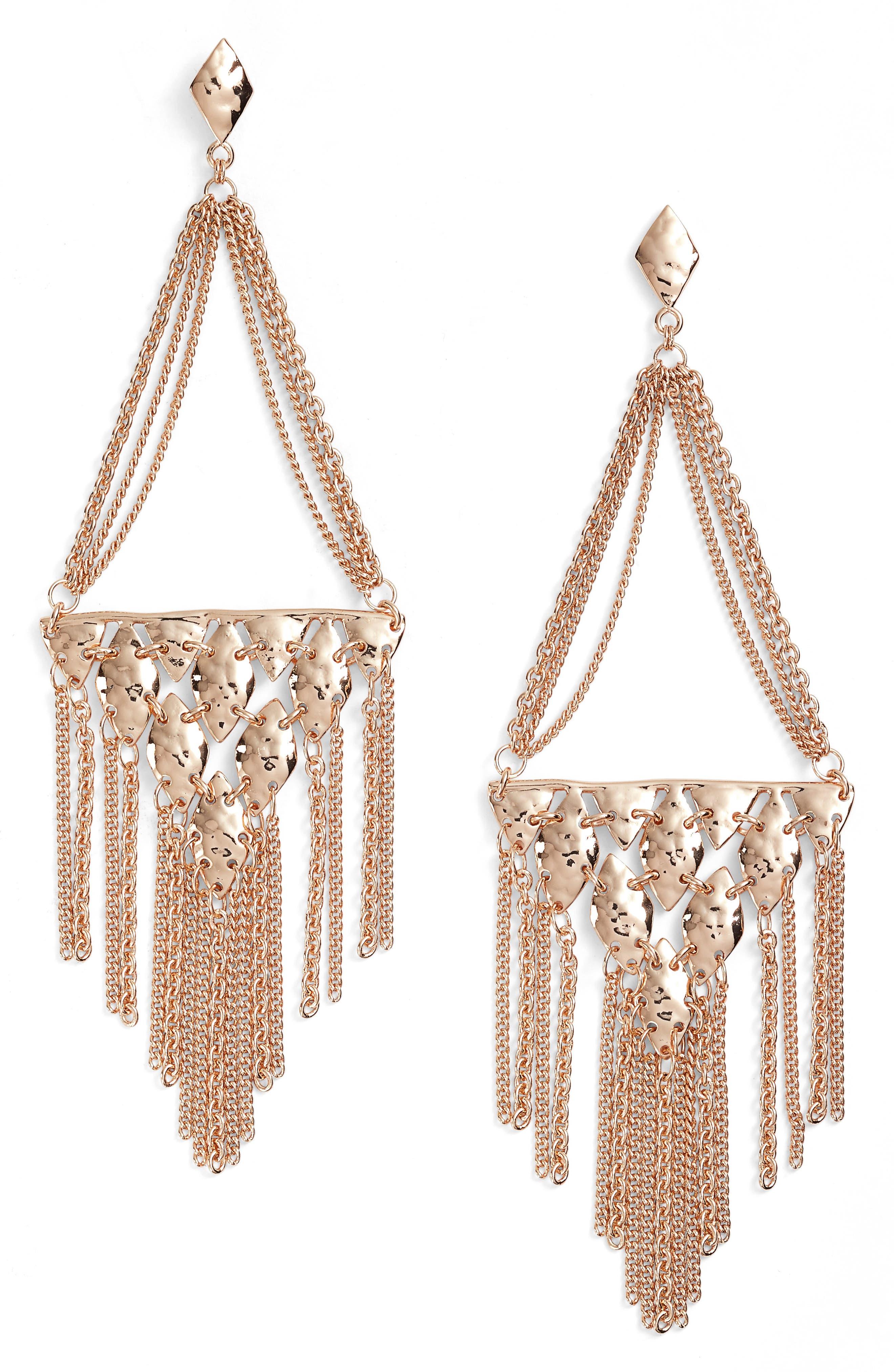 Mandy Drop Earrings,                             Main thumbnail 2, color,