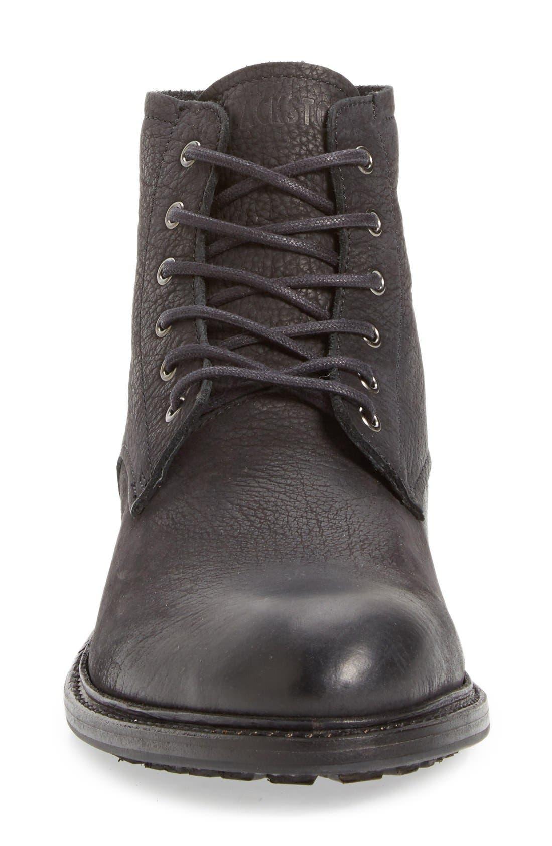 'KM32' Plain Toe Boot,                             Alternate thumbnail 3, color,                             001