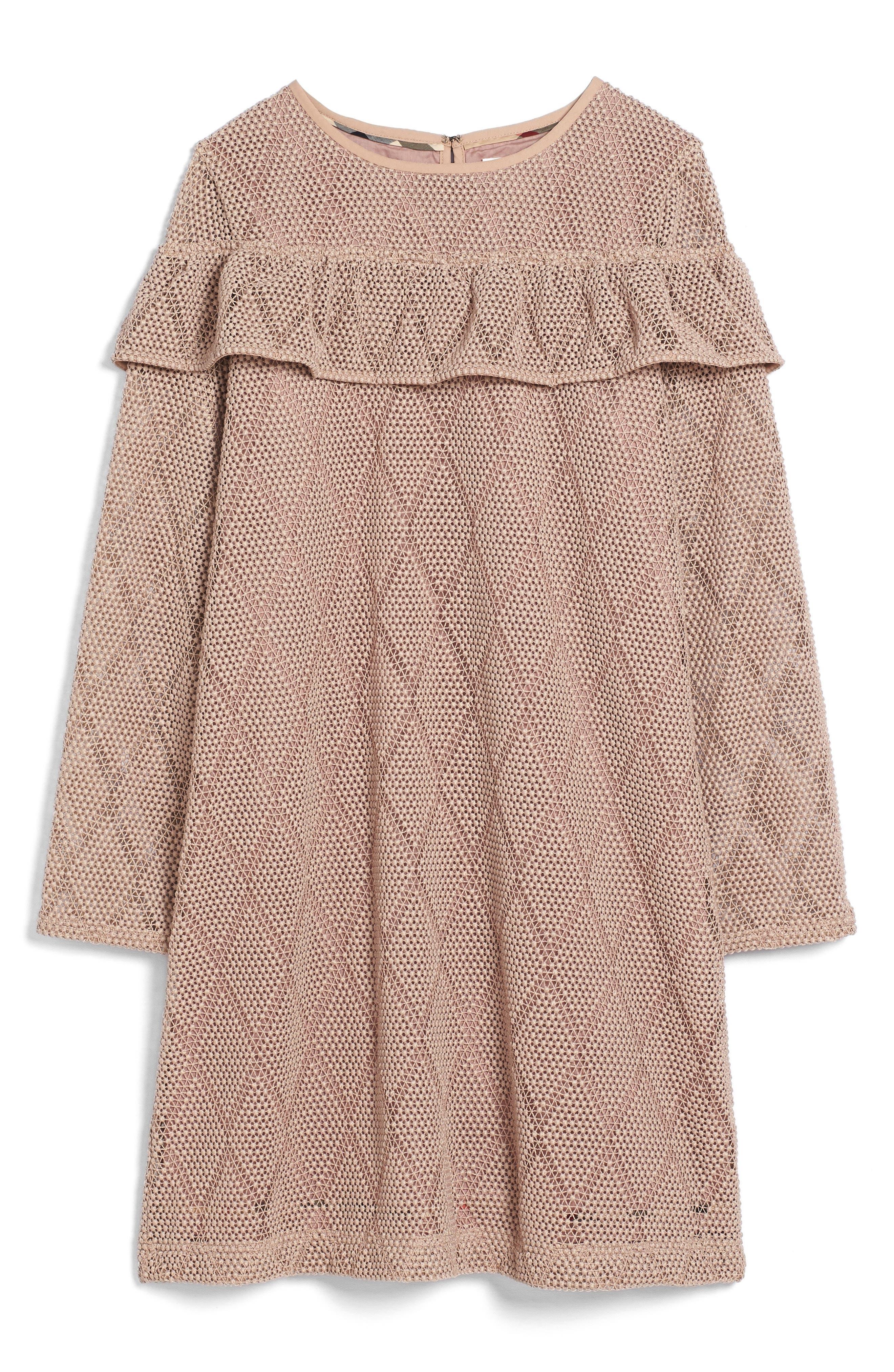 Sabrina Lace Dress,                             Main thumbnail 1, color,                             264