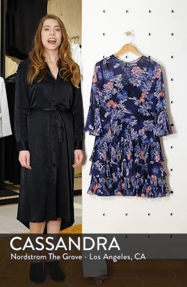 Bell Sleeve Tiered Minidress, sales video thumbnail