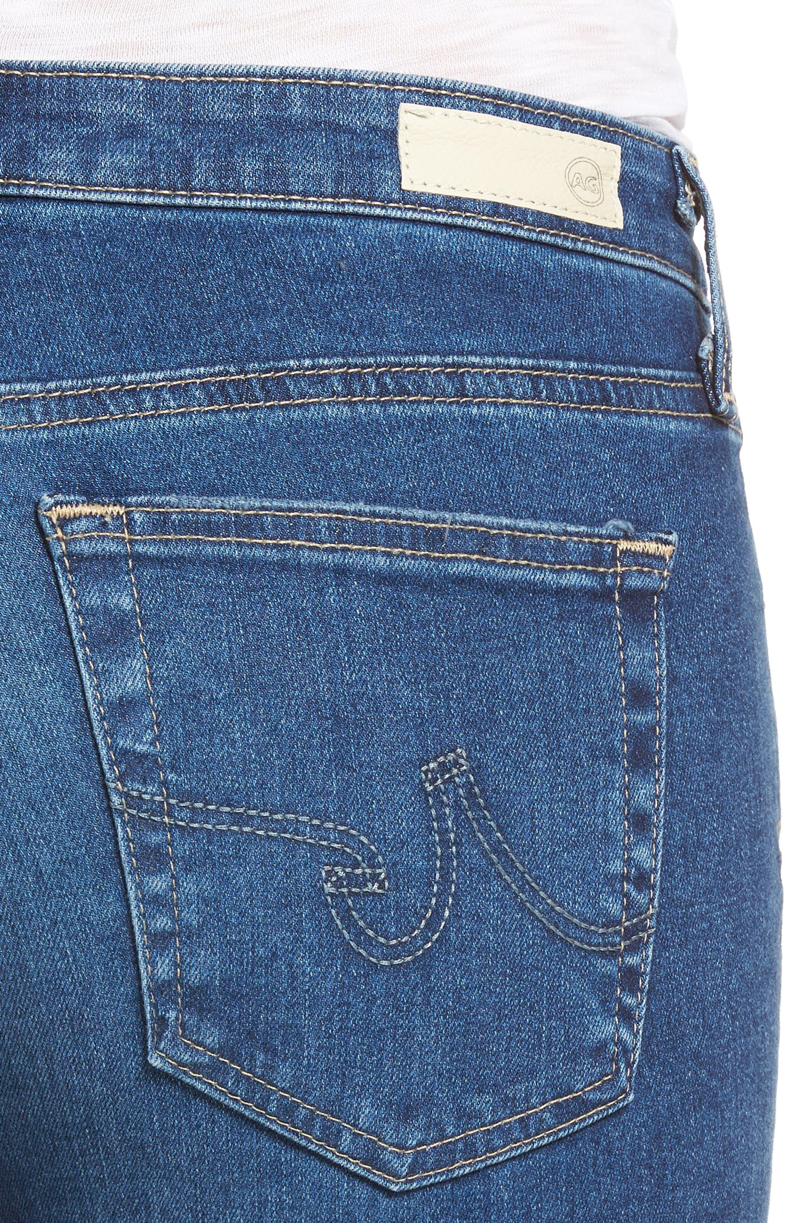 Prima Distressed Crop Cigarette Jeans,                             Alternate thumbnail 13, color,