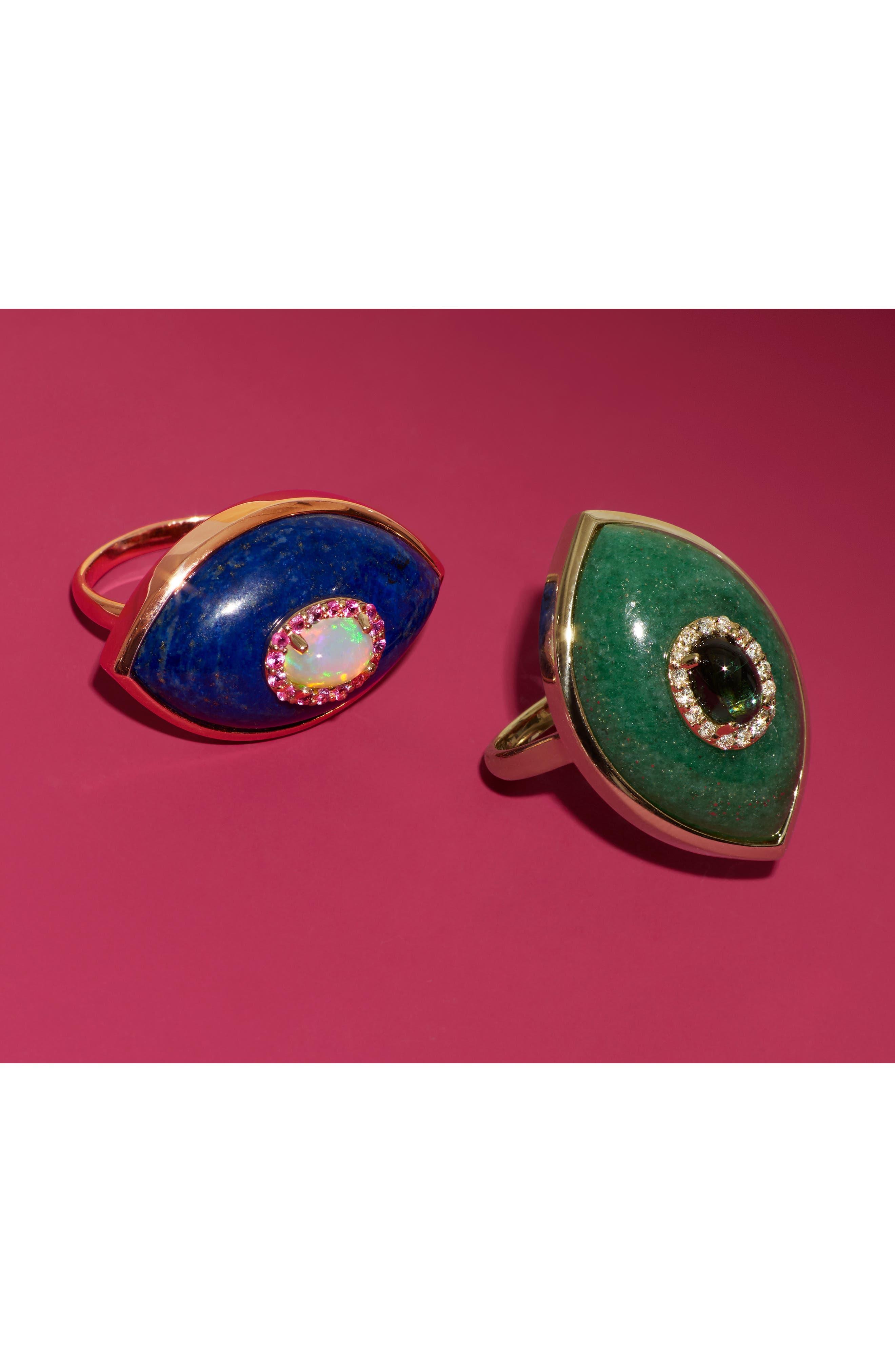 Iris Ring,                             Alternate thumbnail 2, color,                             ROSE GOLD