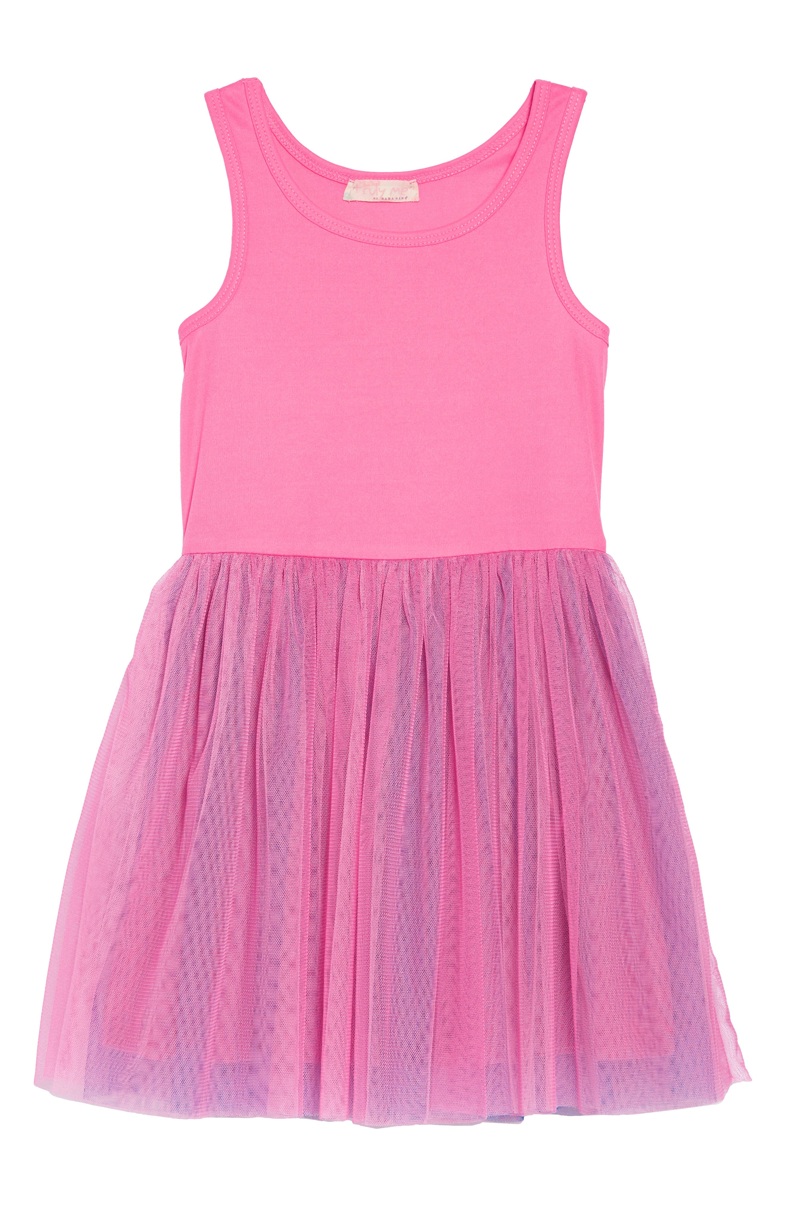 Appliqué Top & Tutu Dress Set,                             Alternate thumbnail 4, color,                             NAVY-PINK
