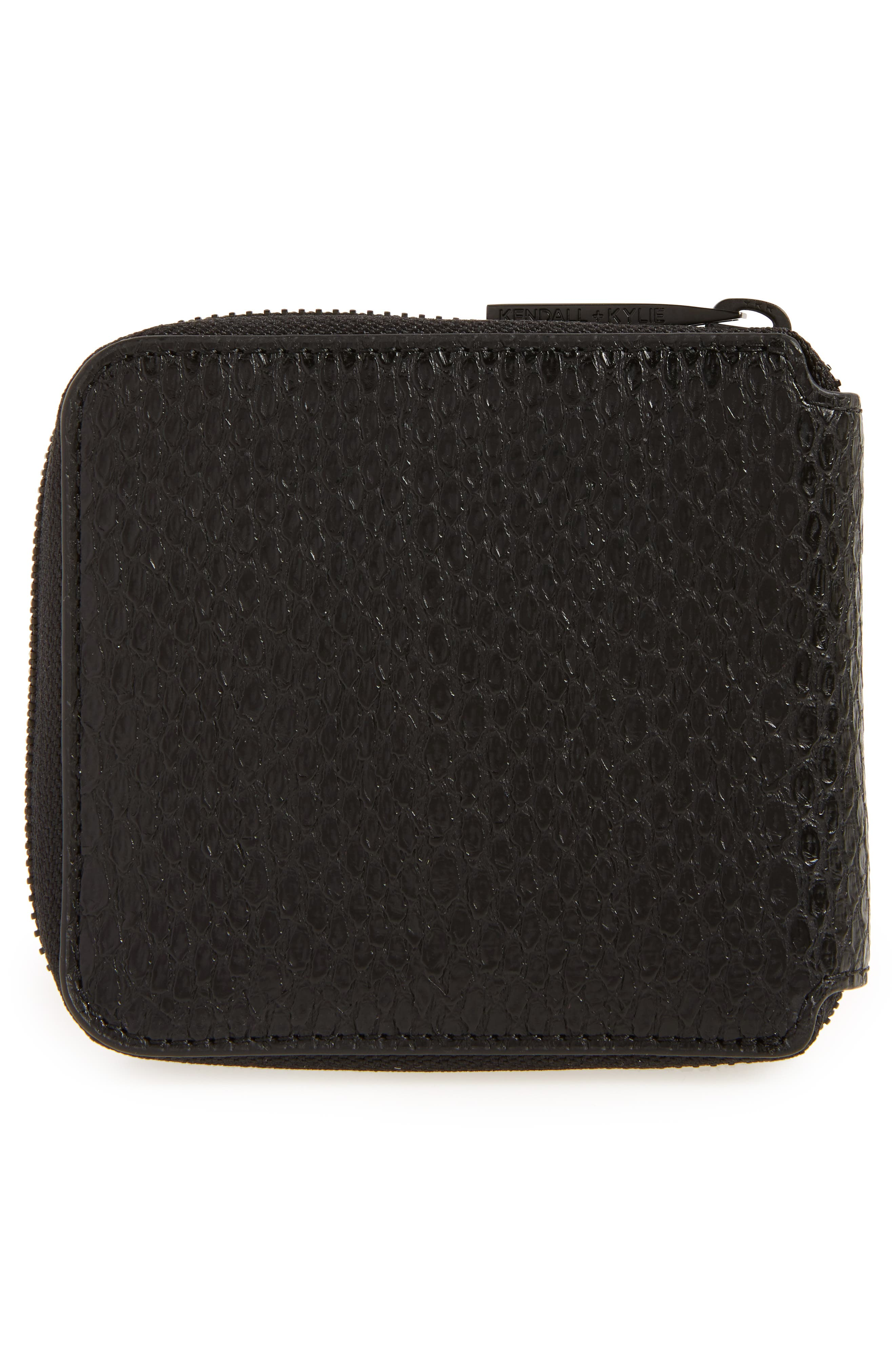 Brodie Faux Leather Wallet,                             Alternate thumbnail 4, color,                             004