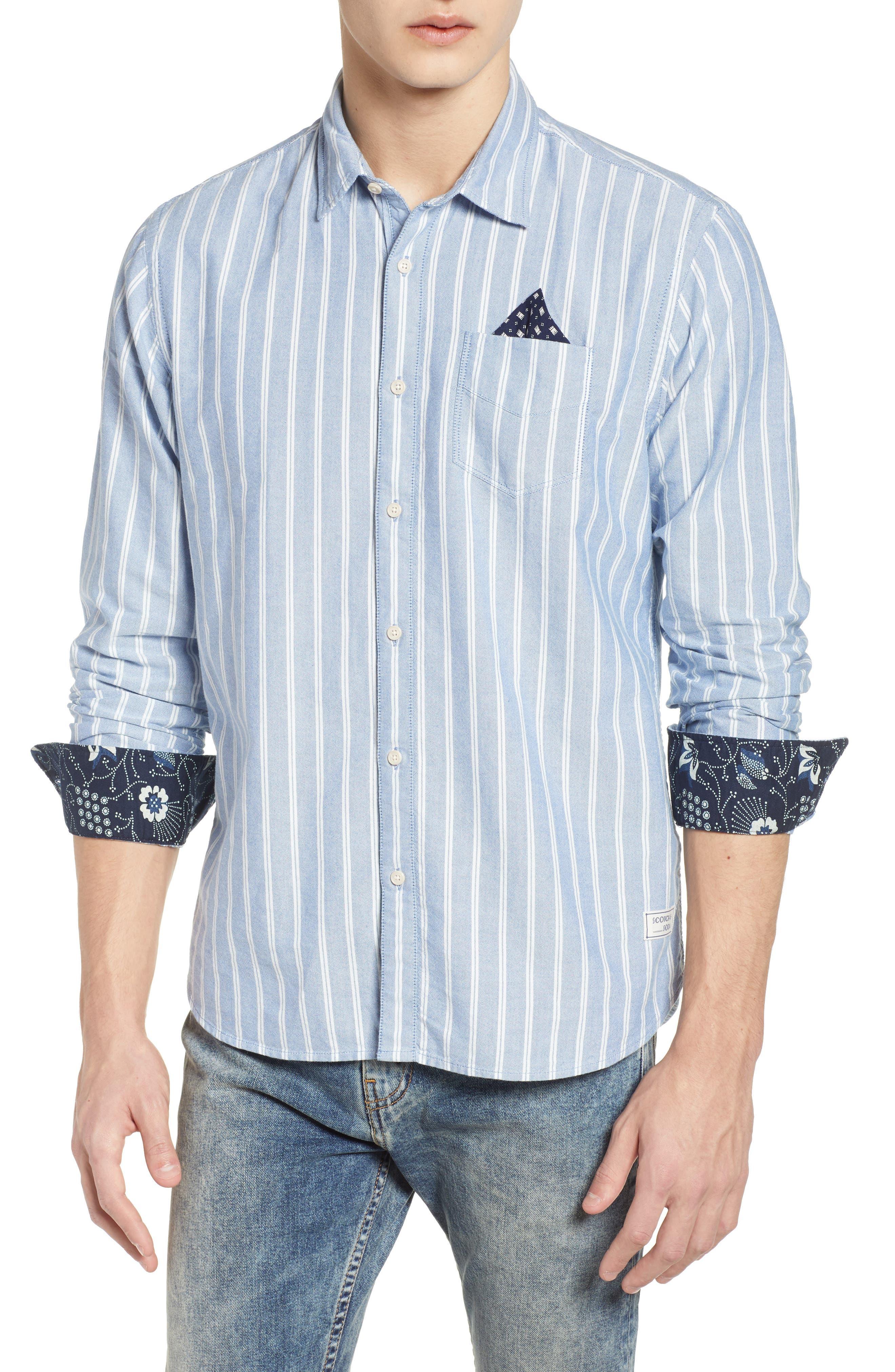 Oxford Shirt,                             Main thumbnail 1, color,                             410