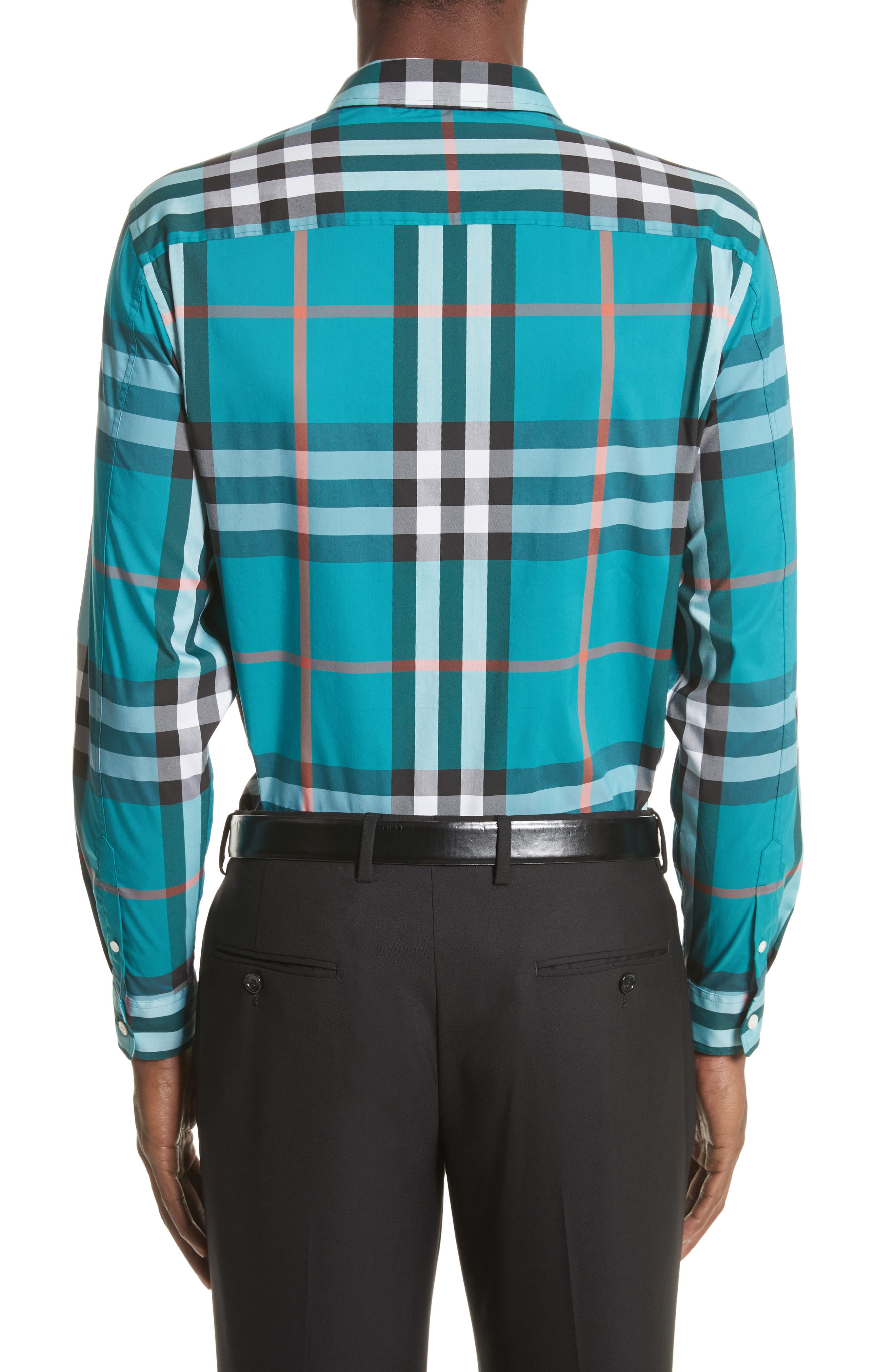 Nelson Check Sport Shirt,                             Alternate thumbnail 28, color,
