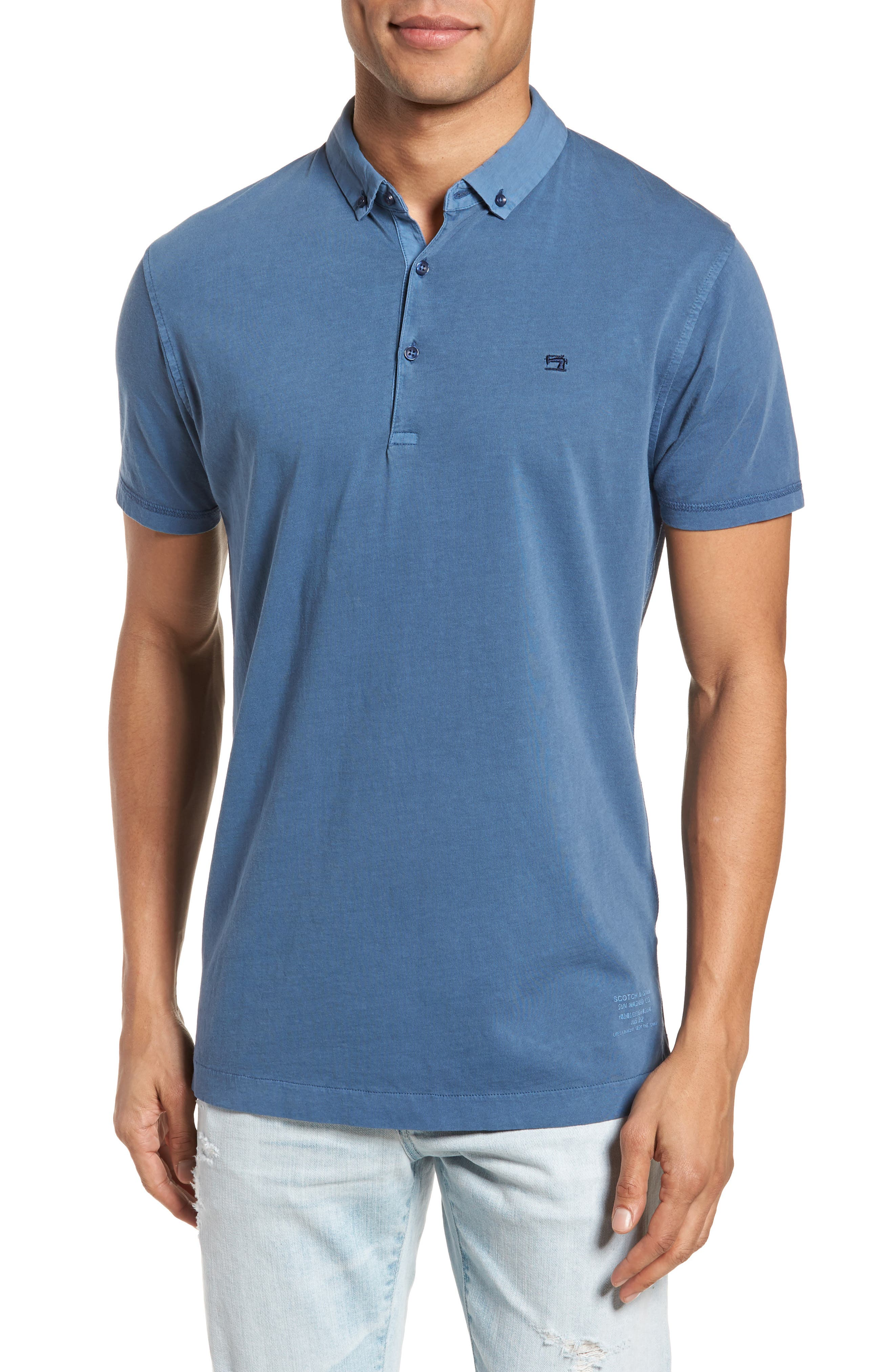 Classic Jersey Polo,                             Main thumbnail 2, color,
