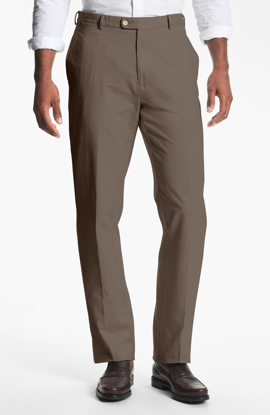 Garment Washed Twill Pants,                             Main thumbnail 4, color,