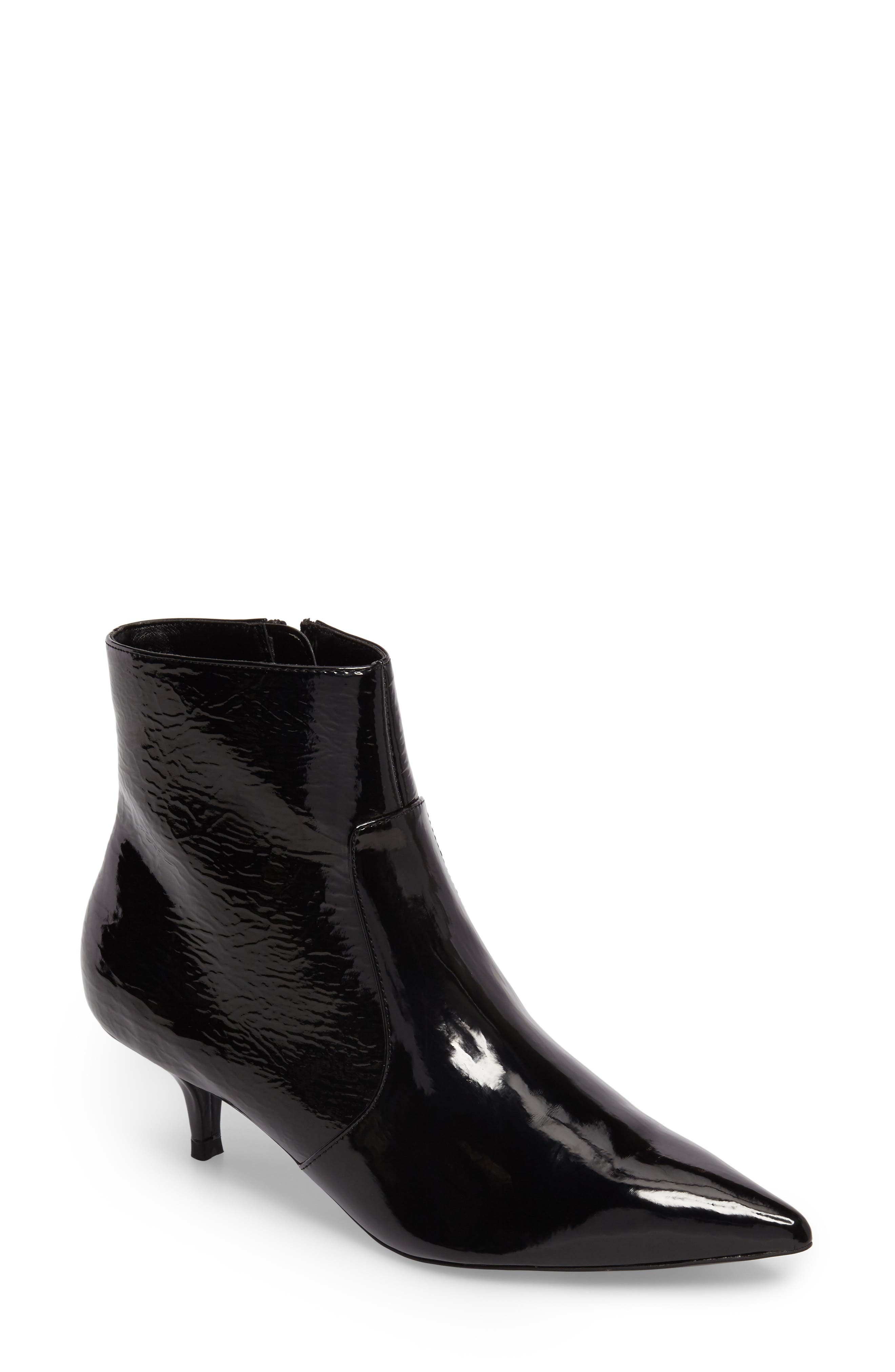 Abba Pointy Toe Bootie,                             Main thumbnail 1, color,                             001