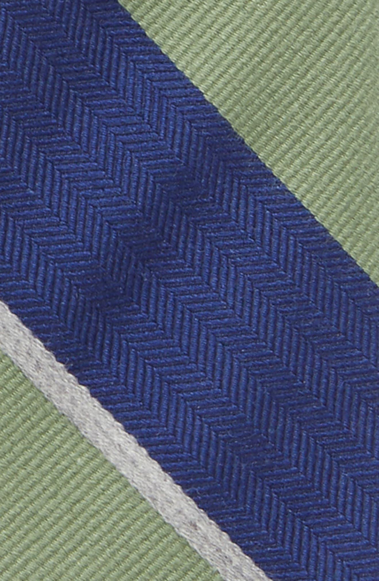 Stripe Wool & Silk Tie,                             Alternate thumbnail 2, color,                             300