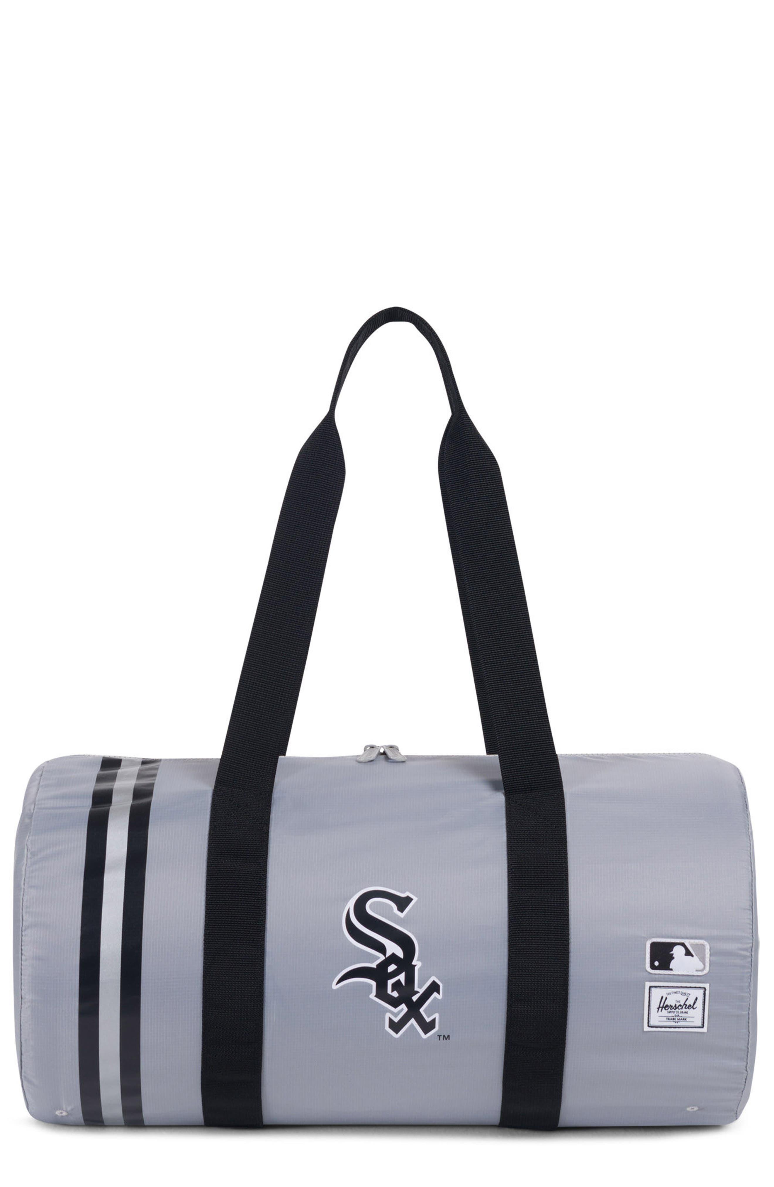 Packable - MLB American League Duffel Bag,                         Main,                         color, CHICAGO WHITE SOX