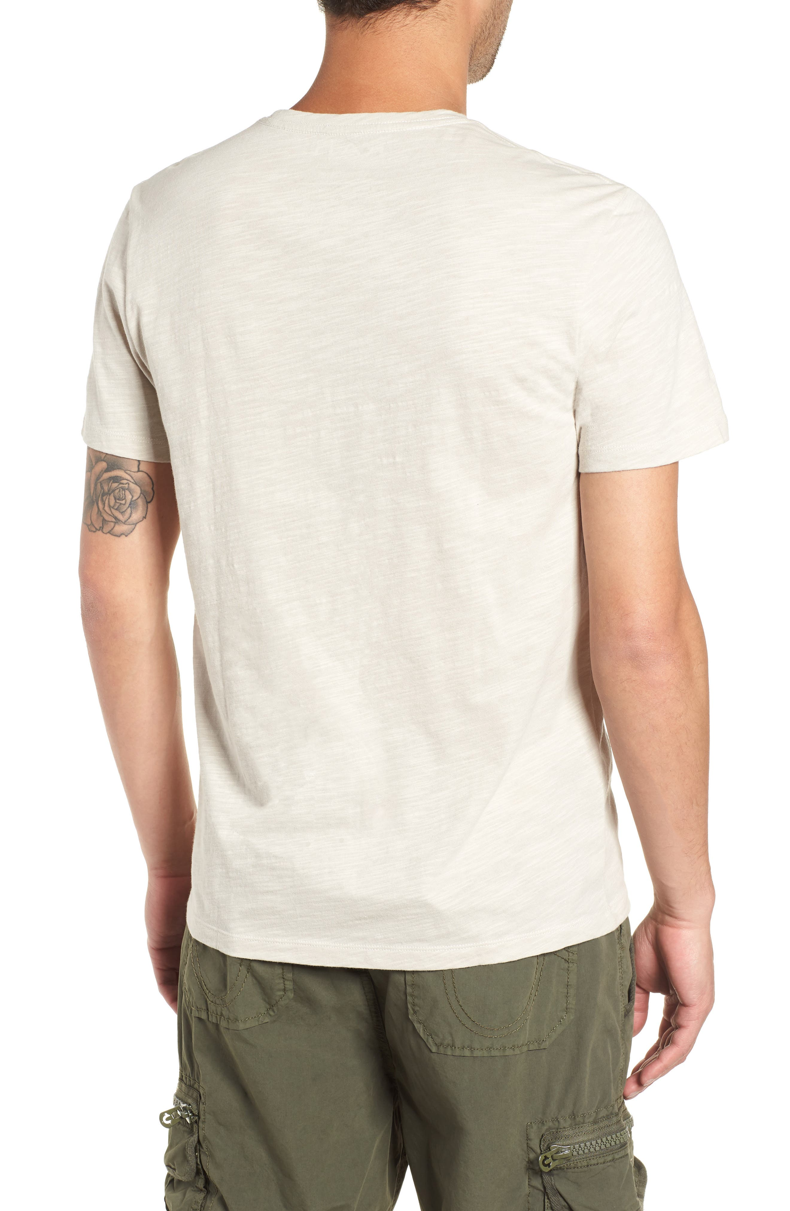 THE RAIL,                             Slub Knit T-Shirt,                             Alternate thumbnail 2, color,                             050