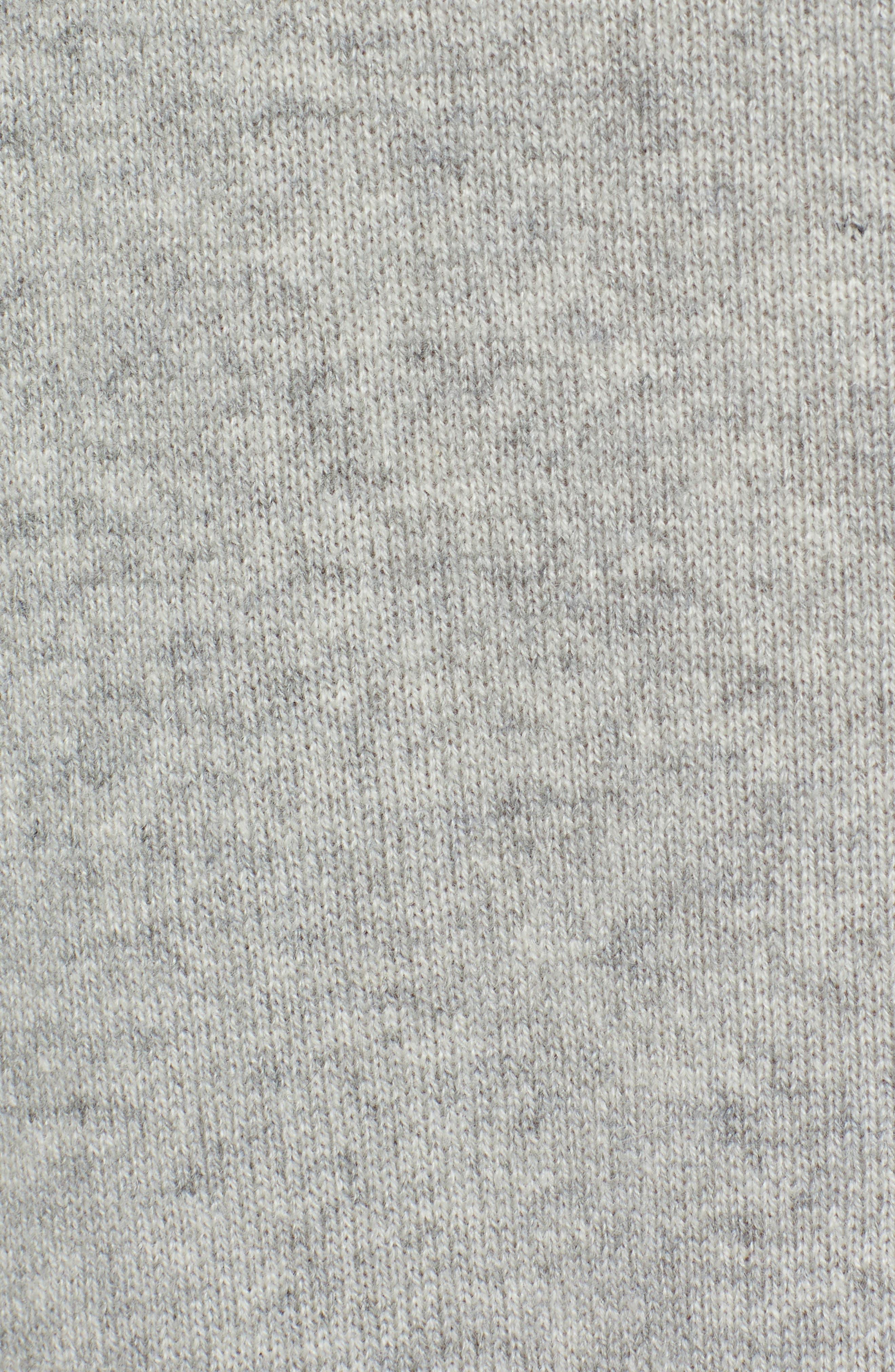 Raglan Sleeve Cashmere Turtleneck,                             Alternate thumbnail 5, color,                             061