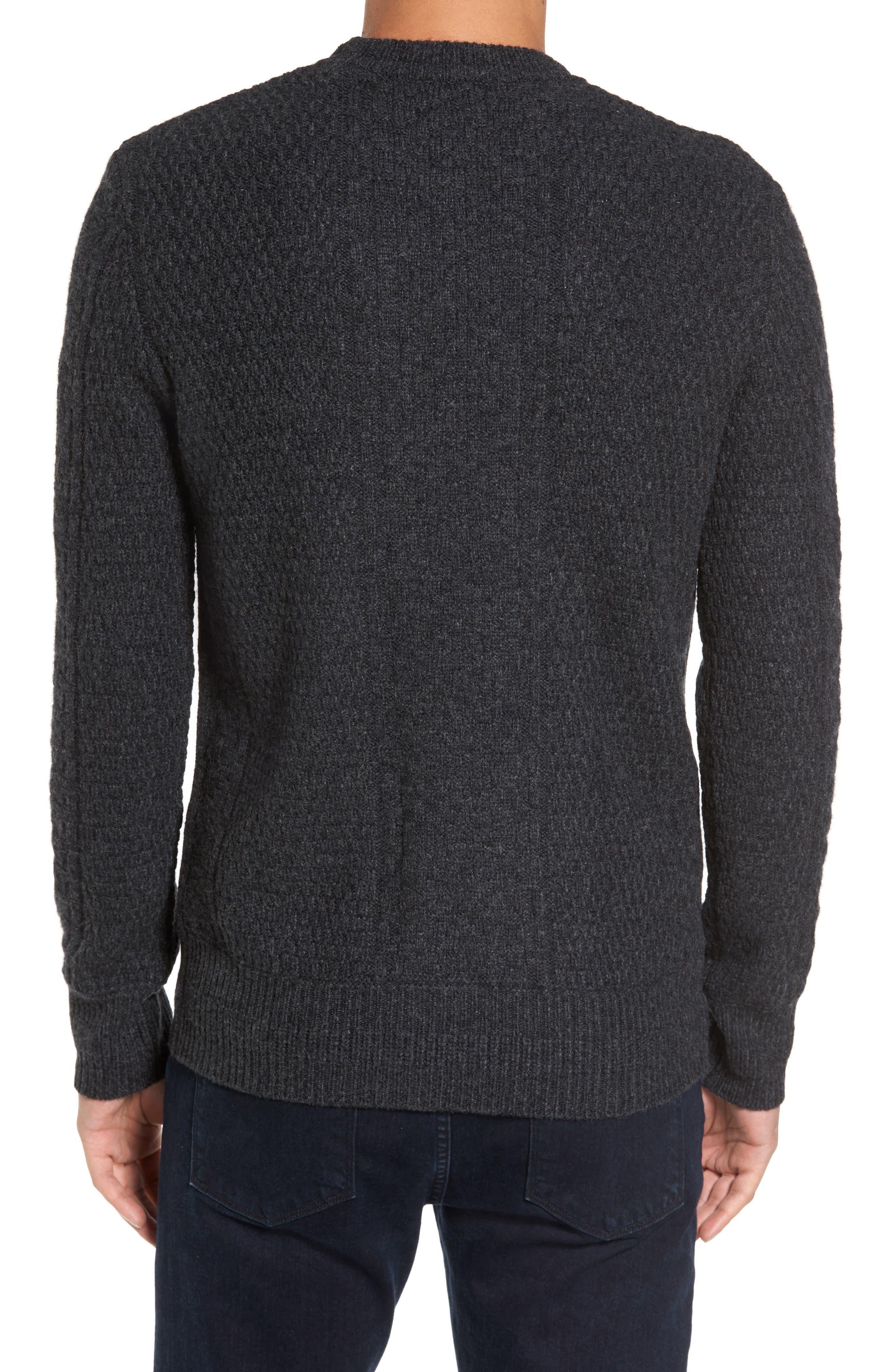 Wool Crewneck Sweater,                             Alternate thumbnail 2, color,                             020