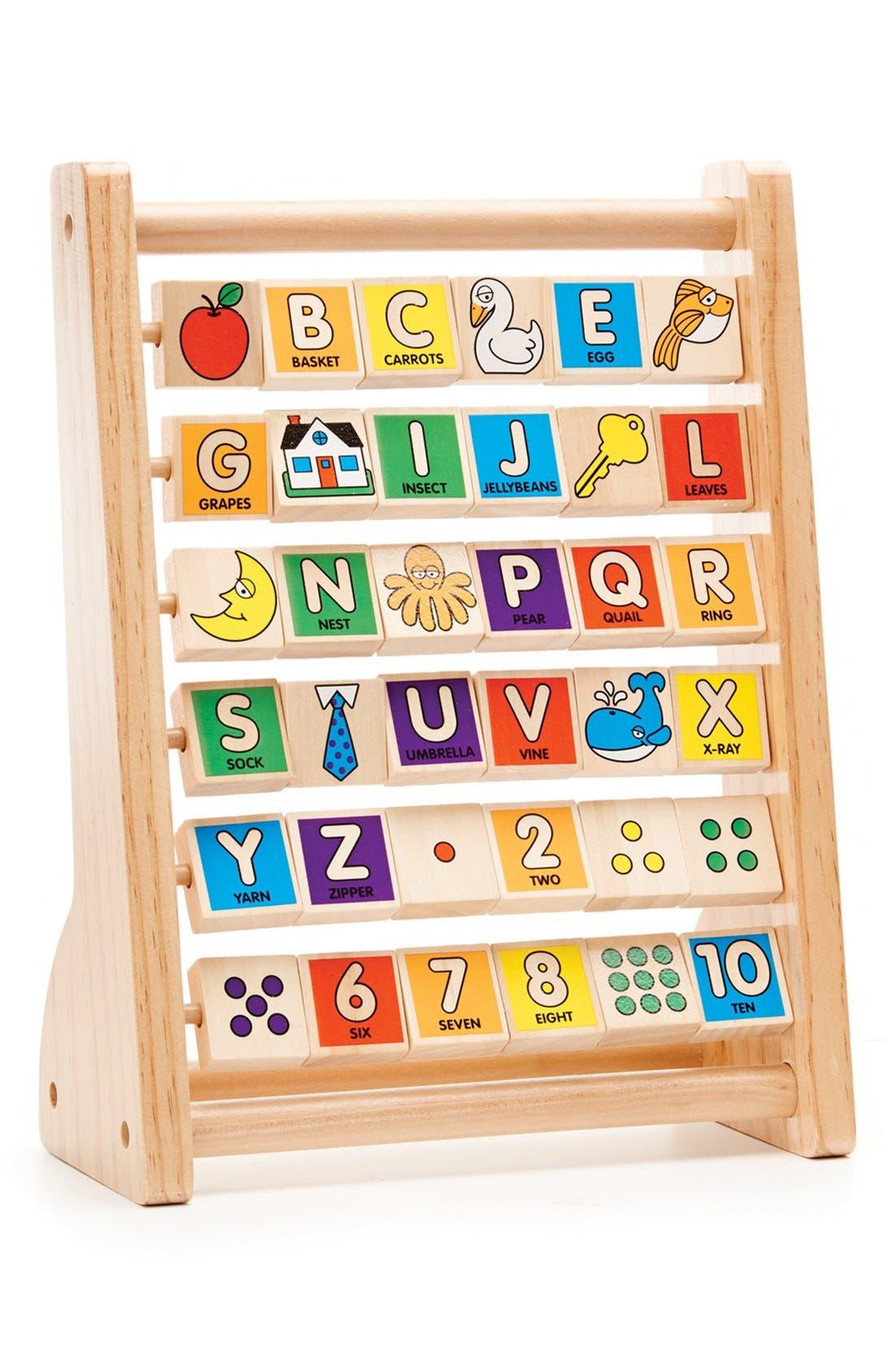 Toddler Melissa  Doug Abc123 Abacus