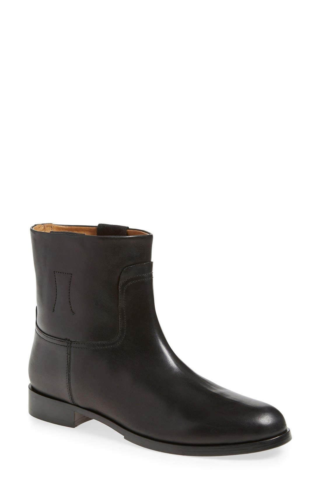 RAG & BONE,                             'Holly' Ankle Bootie,                             Main thumbnail 1, color,                             001