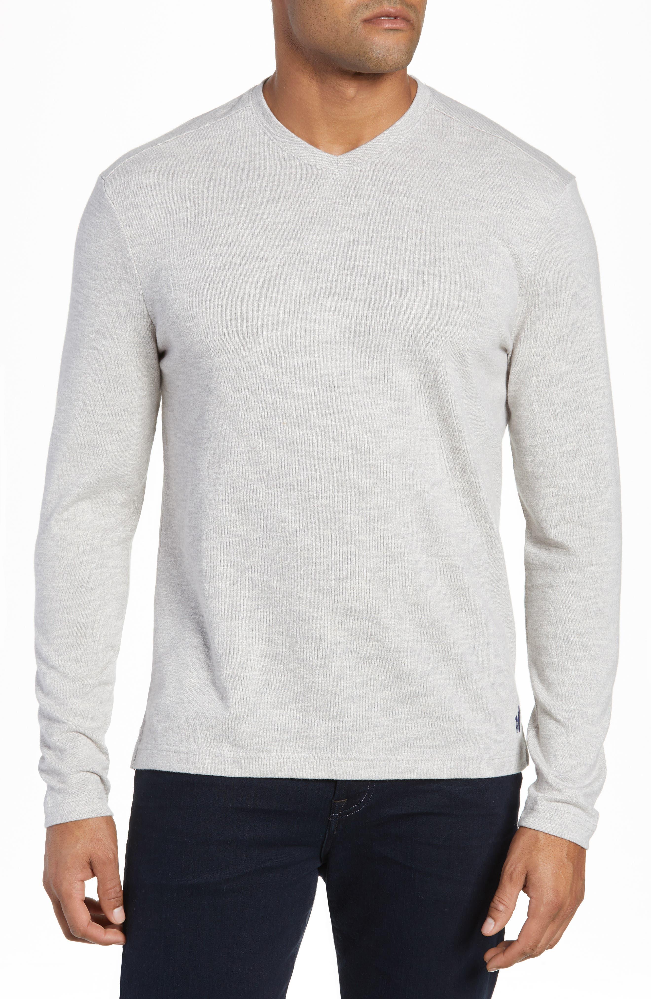 Johnnie-O Cantona Regular Fit Sweater, Grey