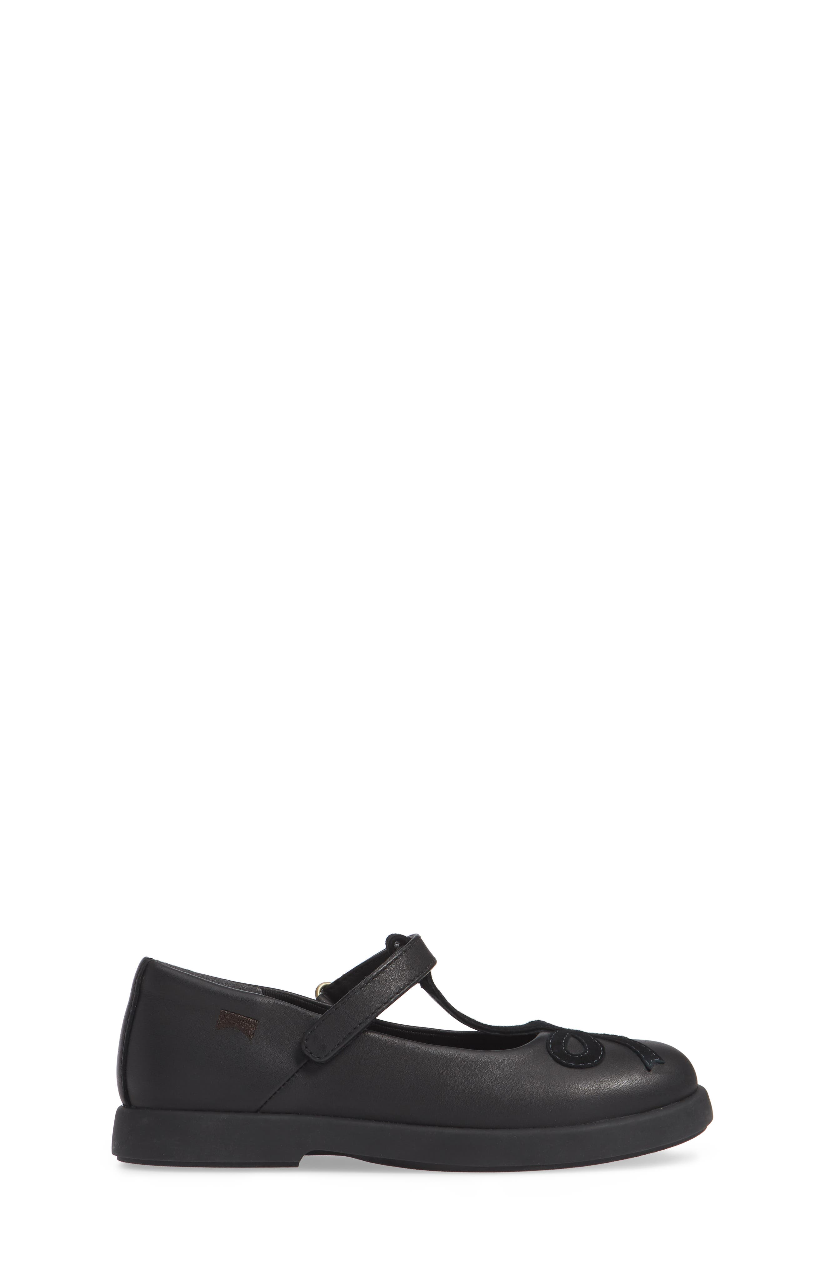 Twins Mary Jane Shoe,                             Alternate thumbnail 3, color,                             BLACK