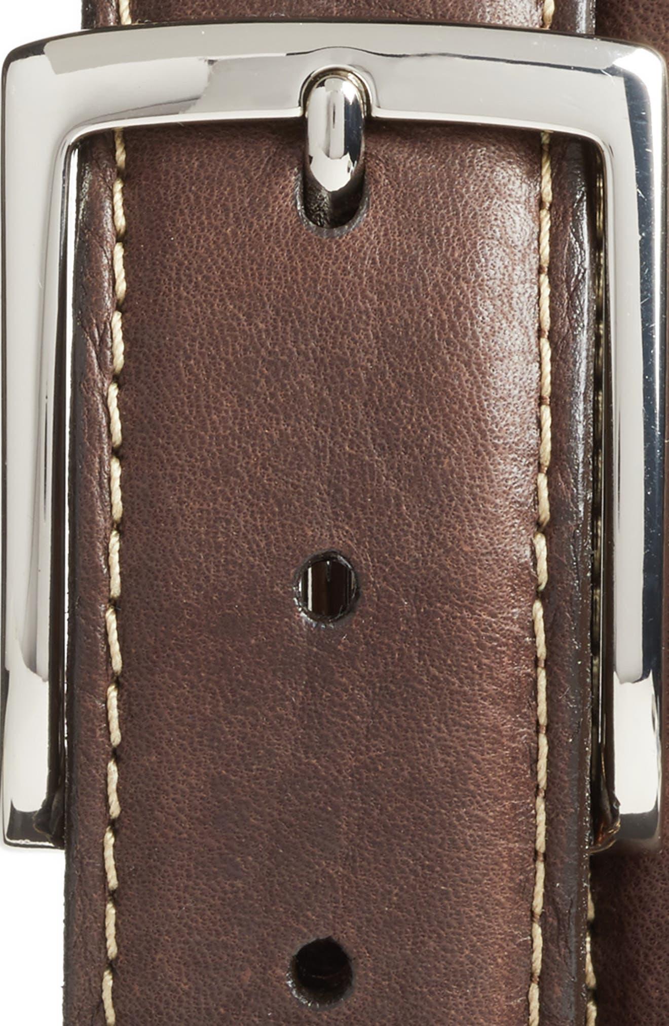 Leather Belt,                             Alternate thumbnail 5, color,