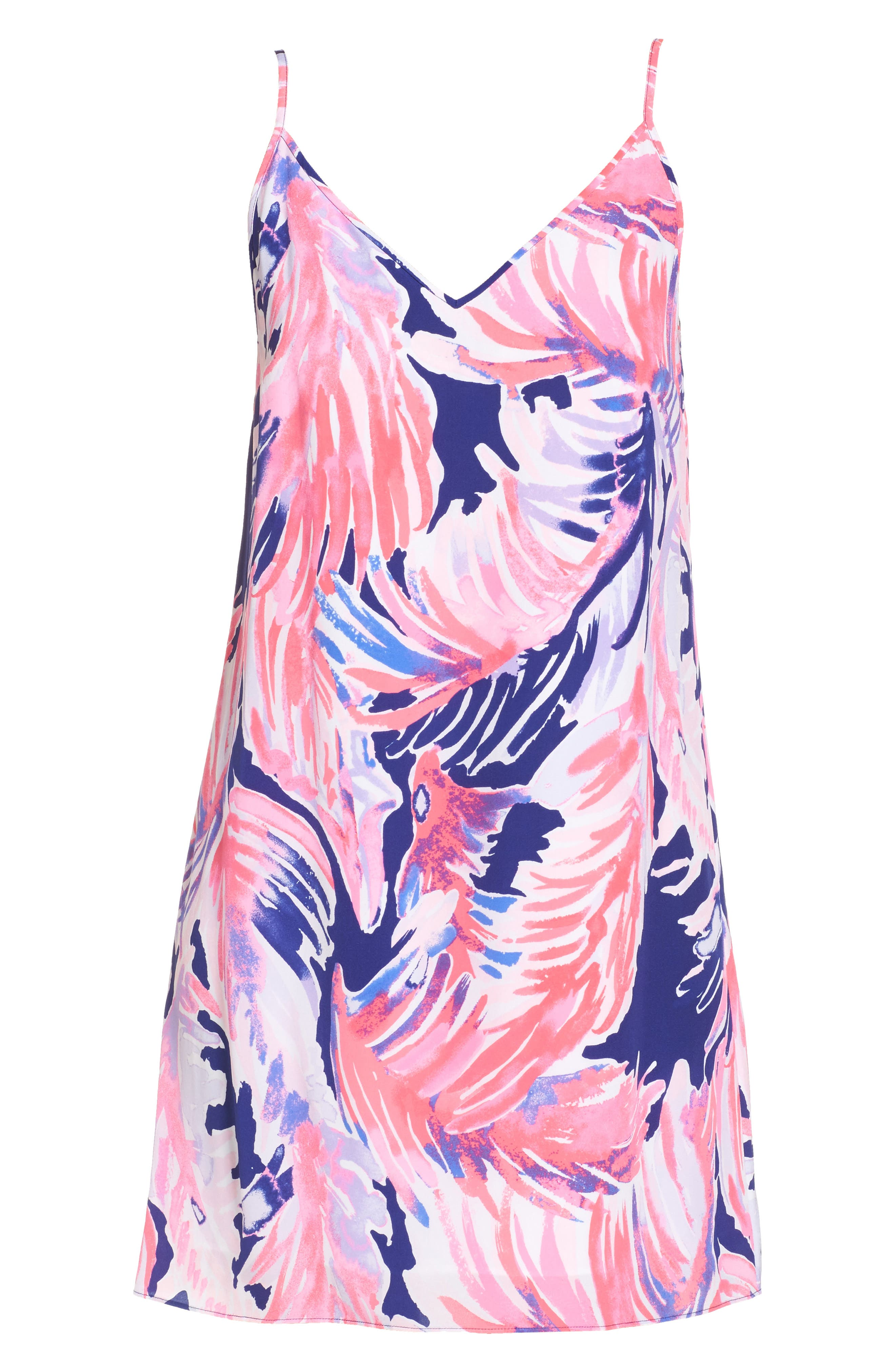 Lela Silk Slipdress,                             Alternate thumbnail 6, color,                             425