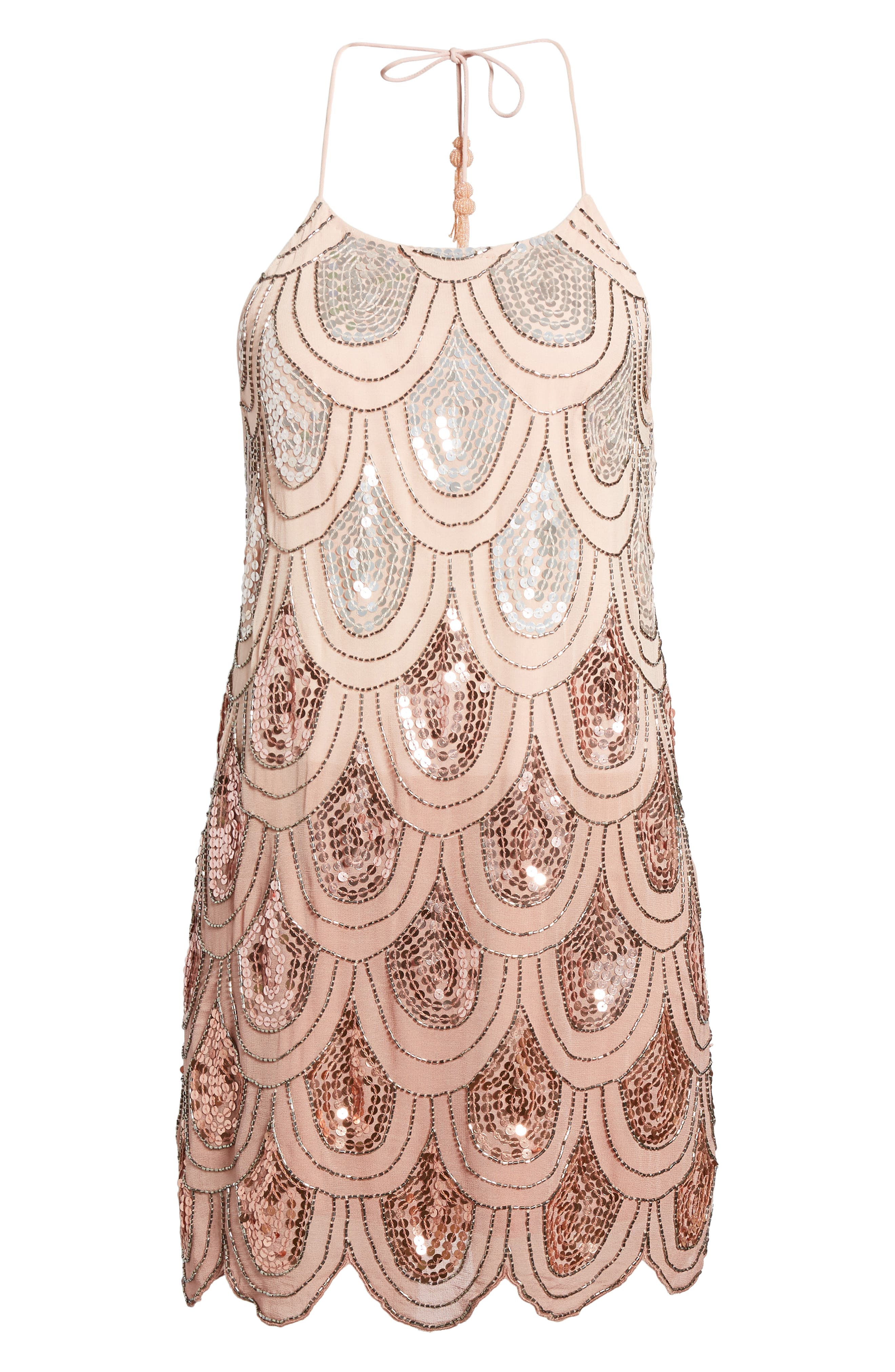 Dame Sequin Minidress,                             Alternate thumbnail 12, color,